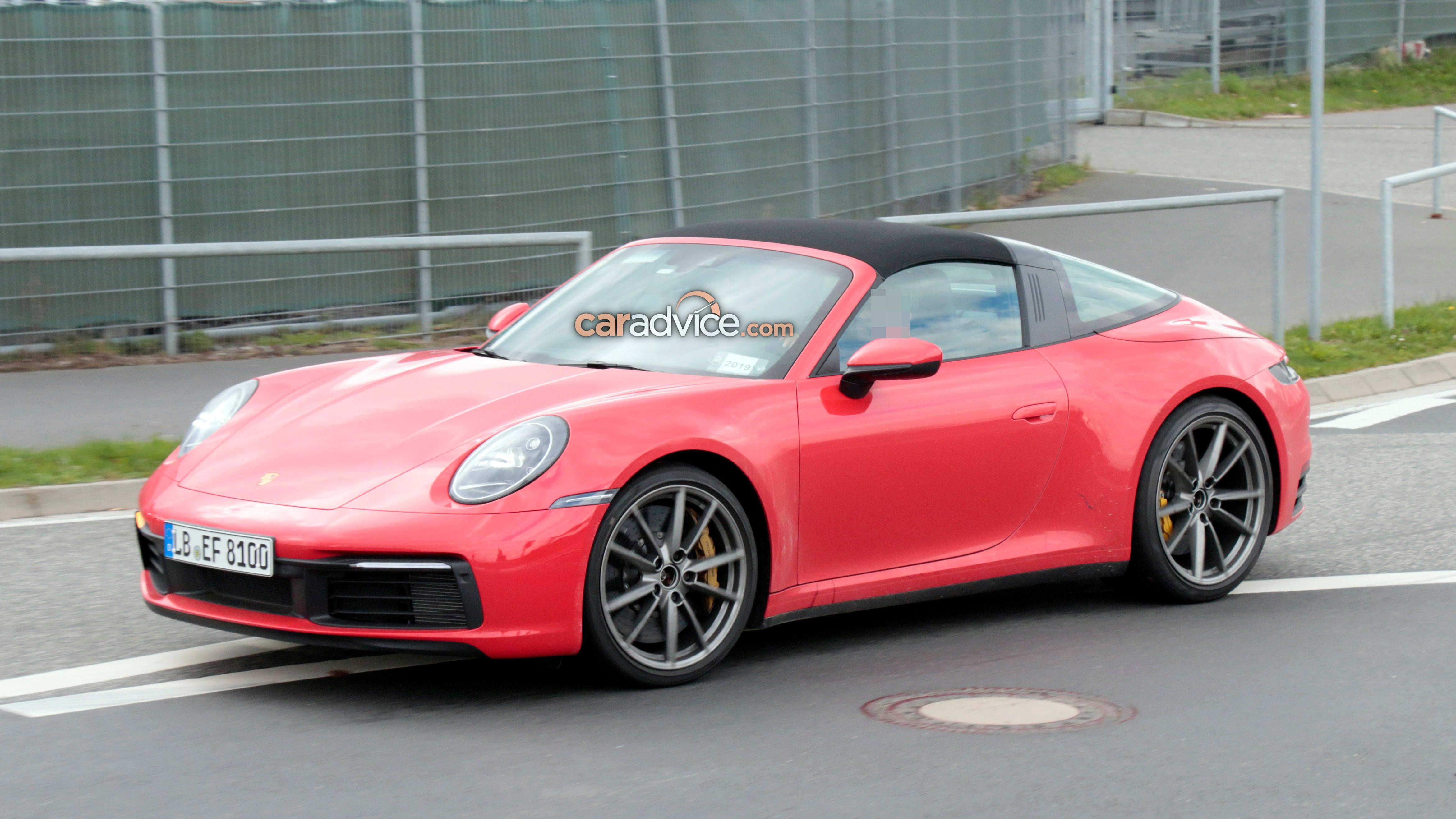 2020 Porsche 911 Targa Spied Caradvice