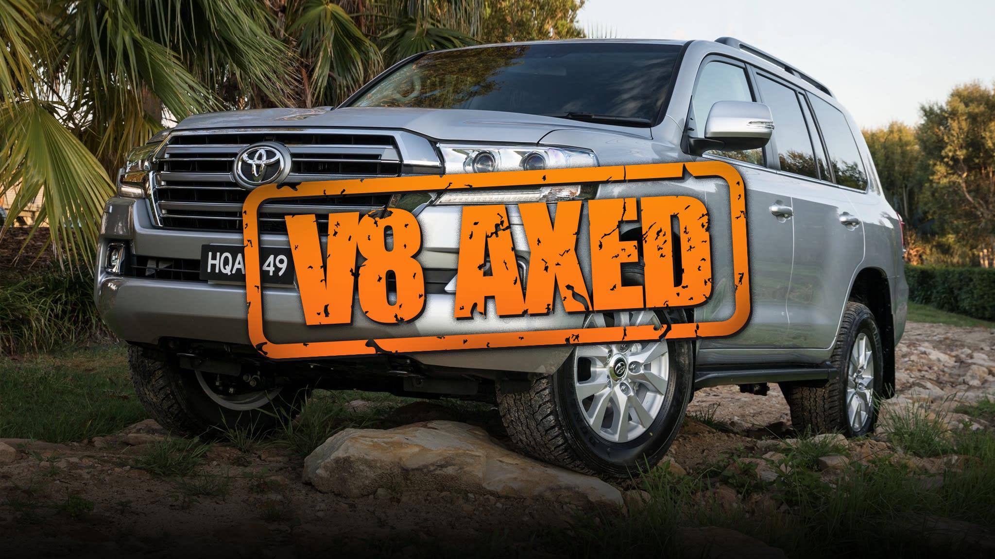 Toyota to axe LandCruiser V8 | CarAdvice