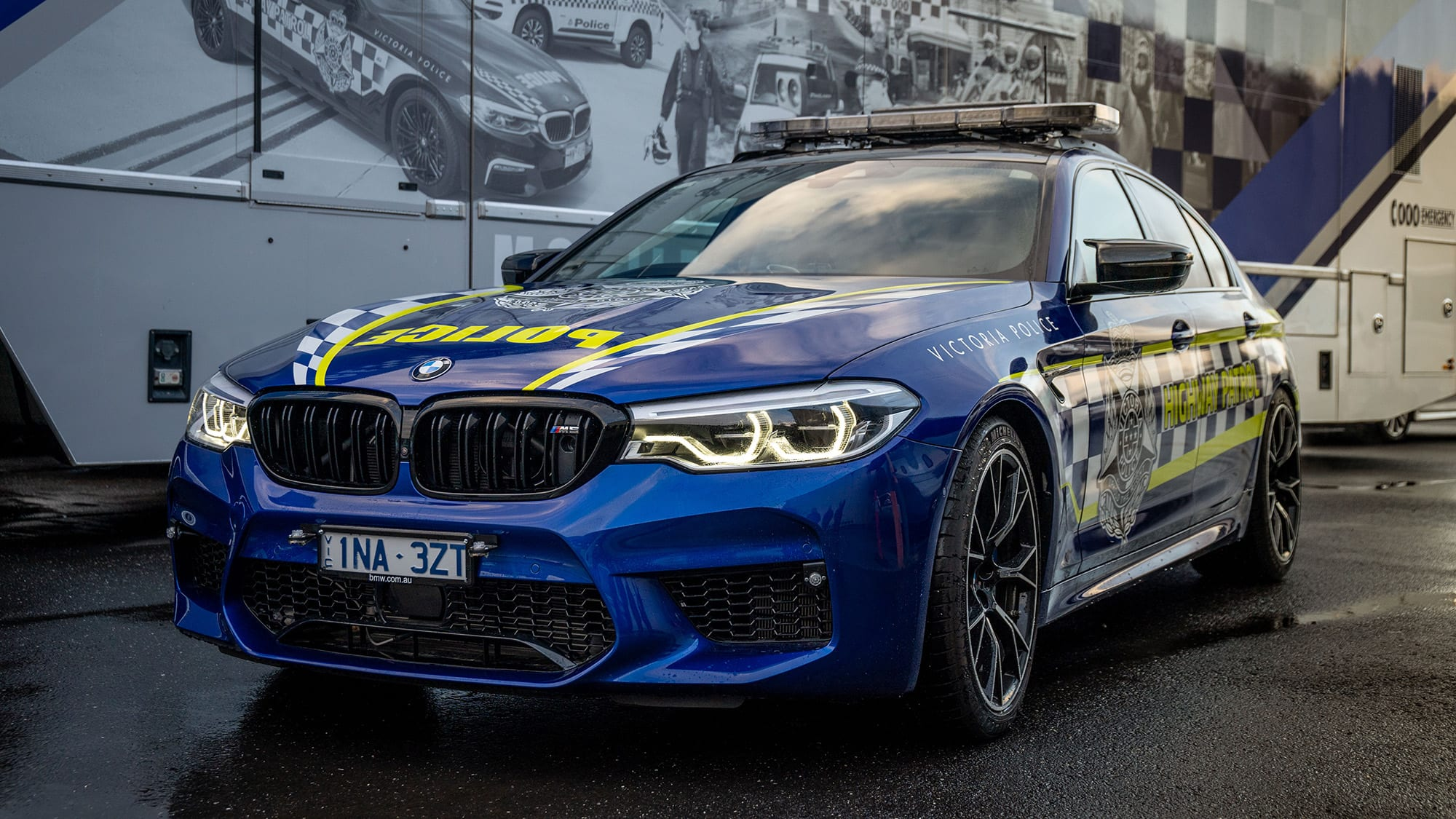 BMW M5 Competition: Victoria Police reveals Highway Patrol