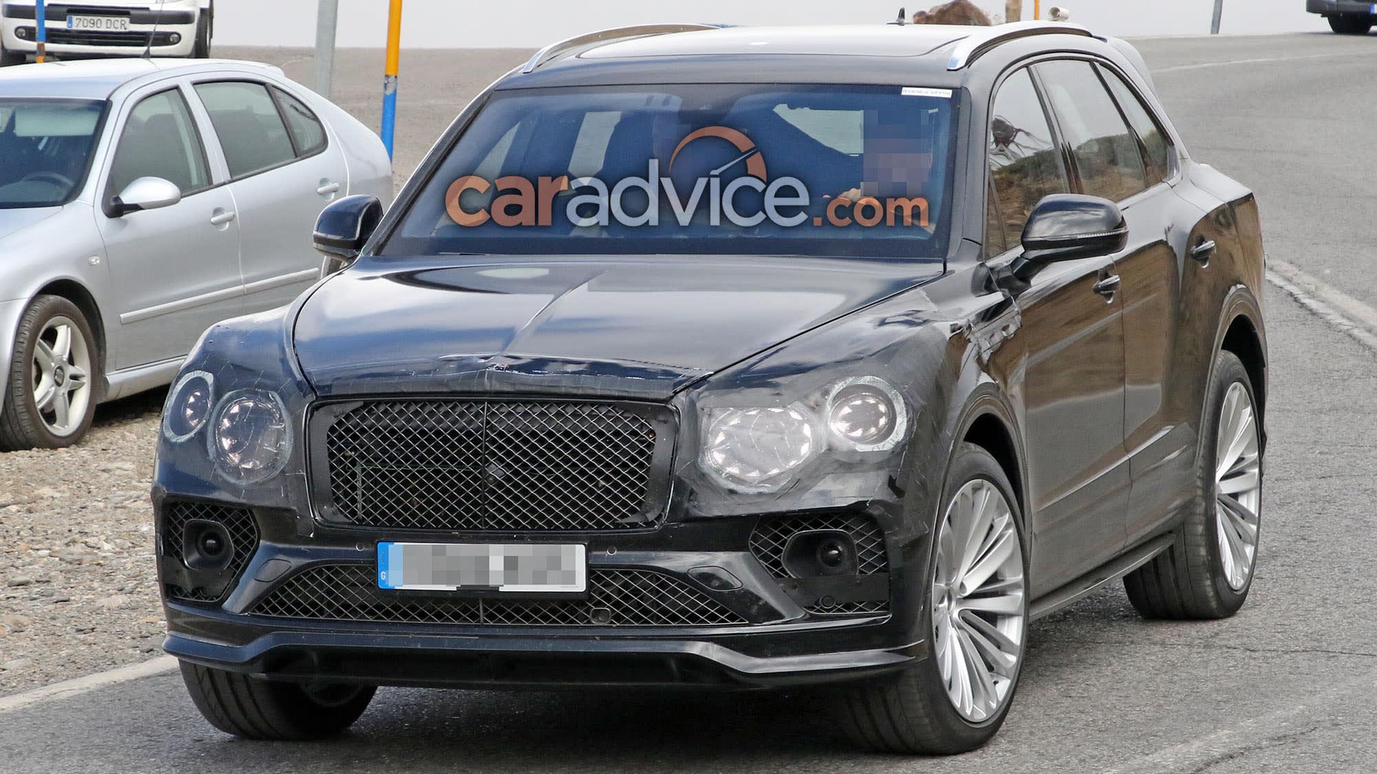 2020 Bentley Bentayga Facelift Spied Caradvice