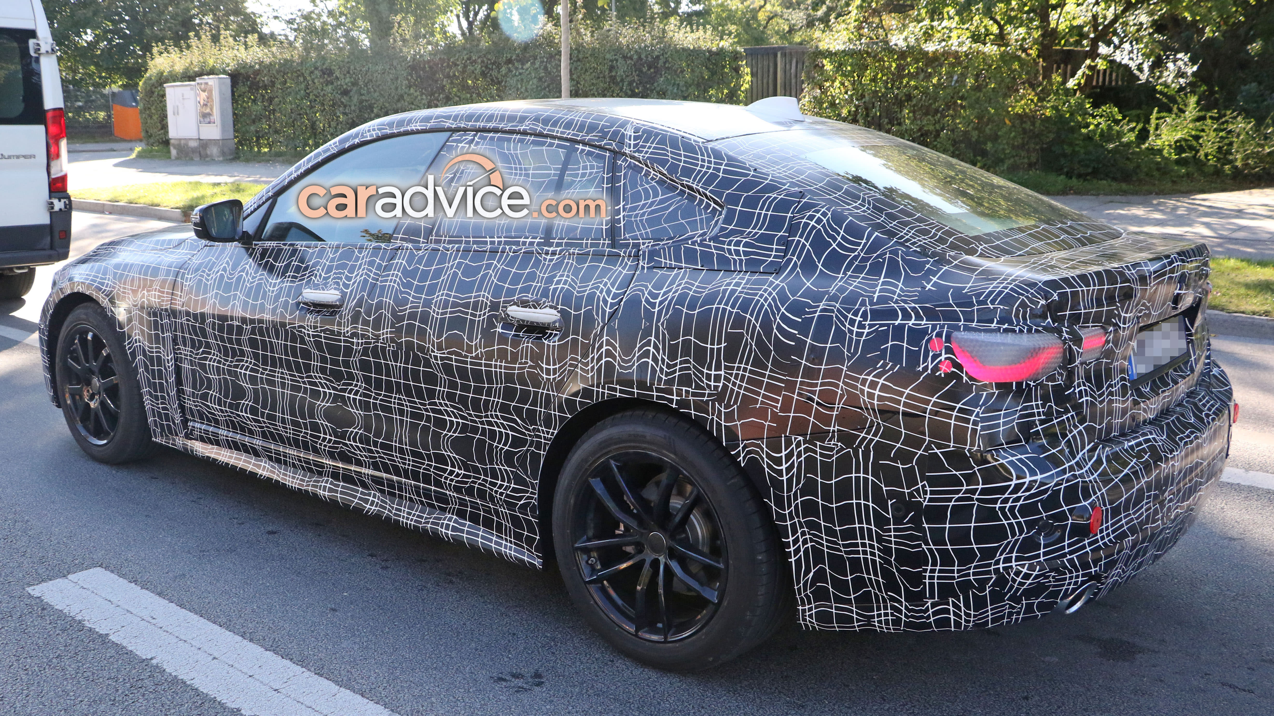 4 Series Gran Coupe >> 2020 Bmw 4 Series Gran Coupe Spied Caradvice
