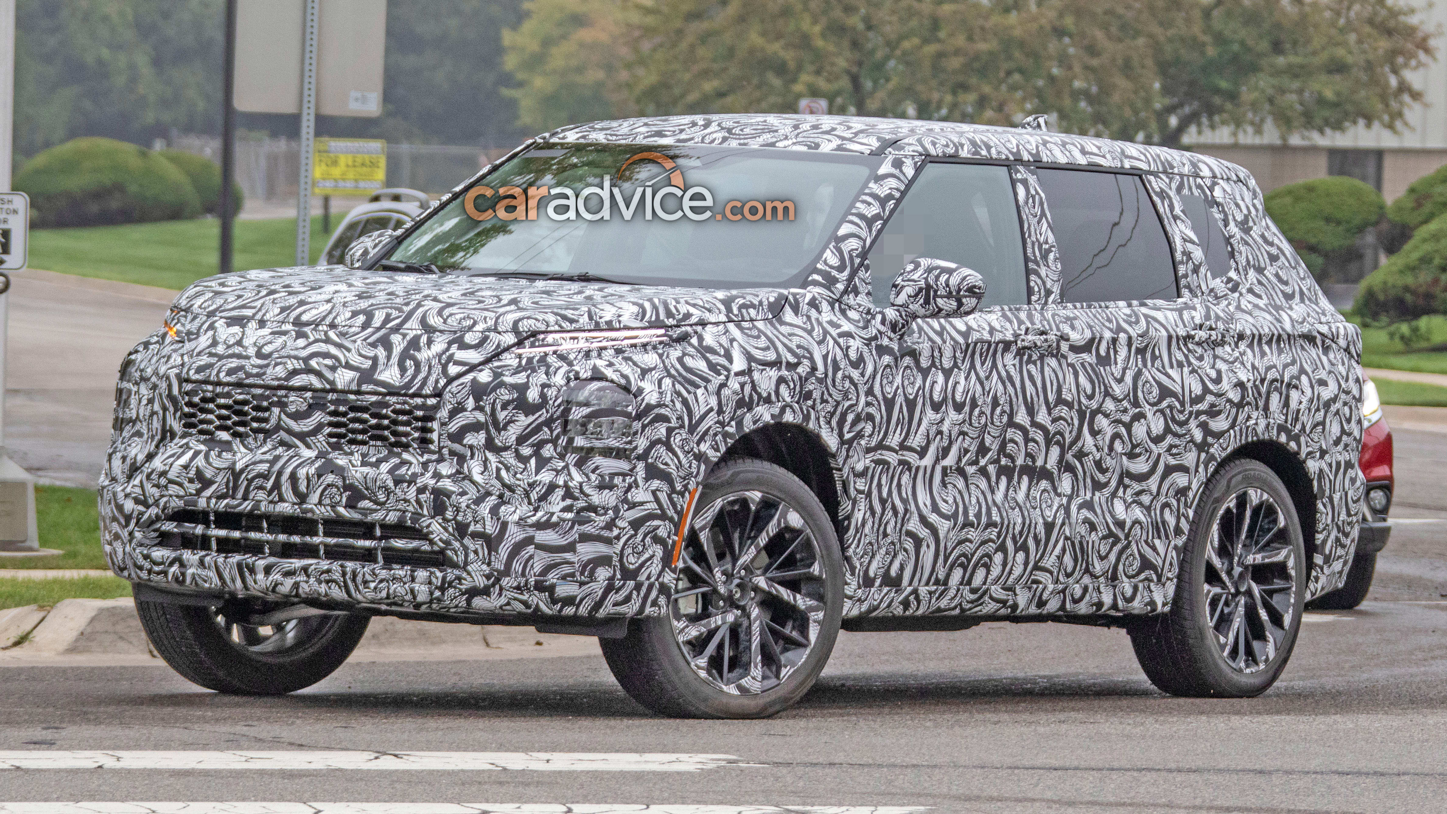2021 Mitsubishi Outlander Spied Caradvice