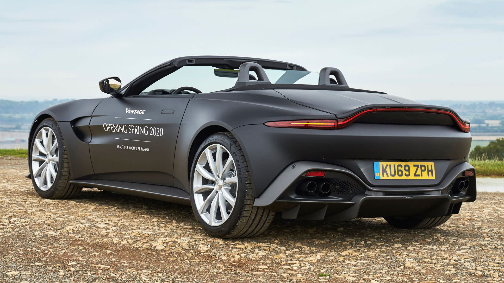 2020 Aston Martin Vantage Roadster Revealed Caradvice