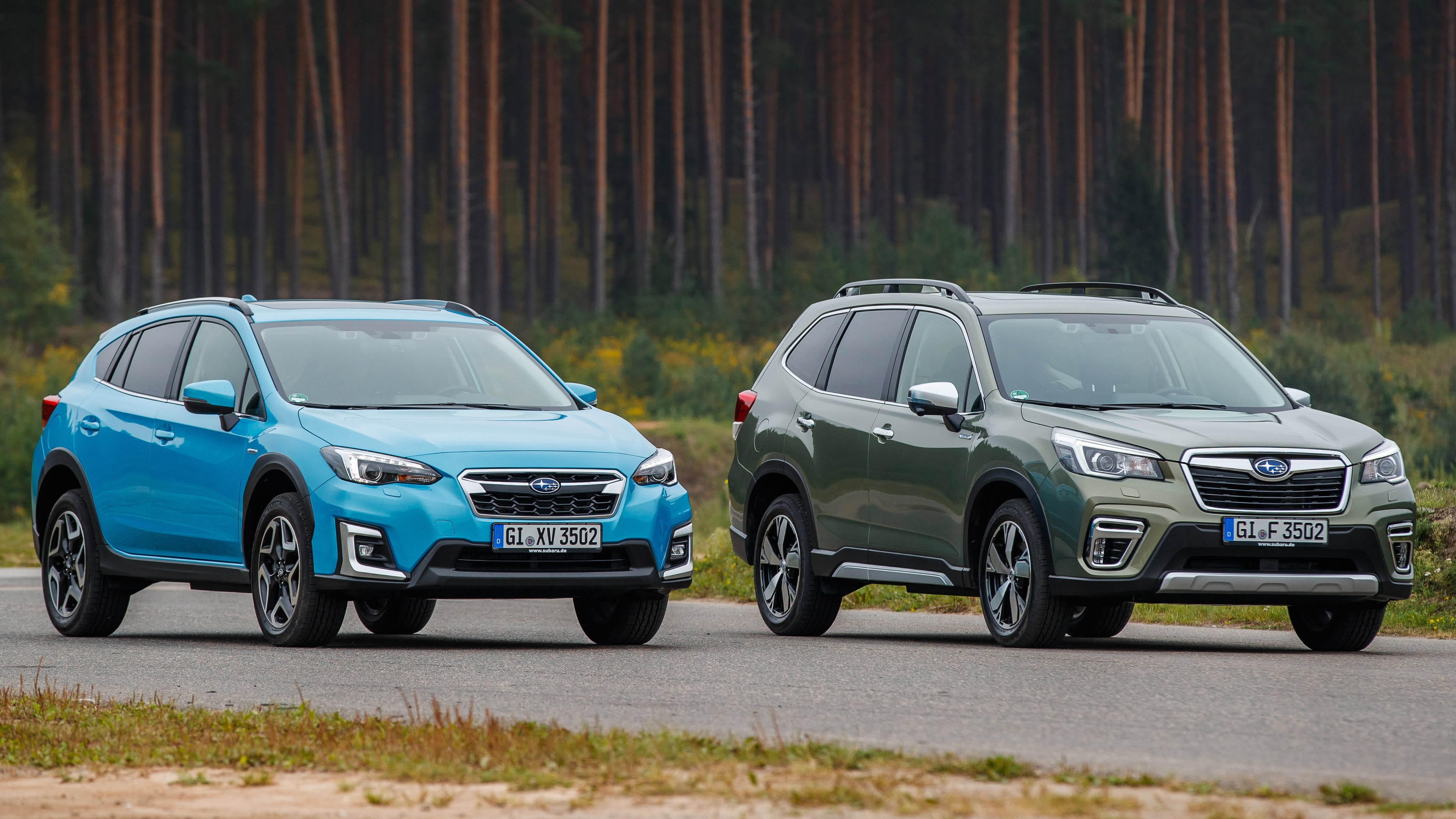 2020 Subaru Crosstrek Hybridand Interior