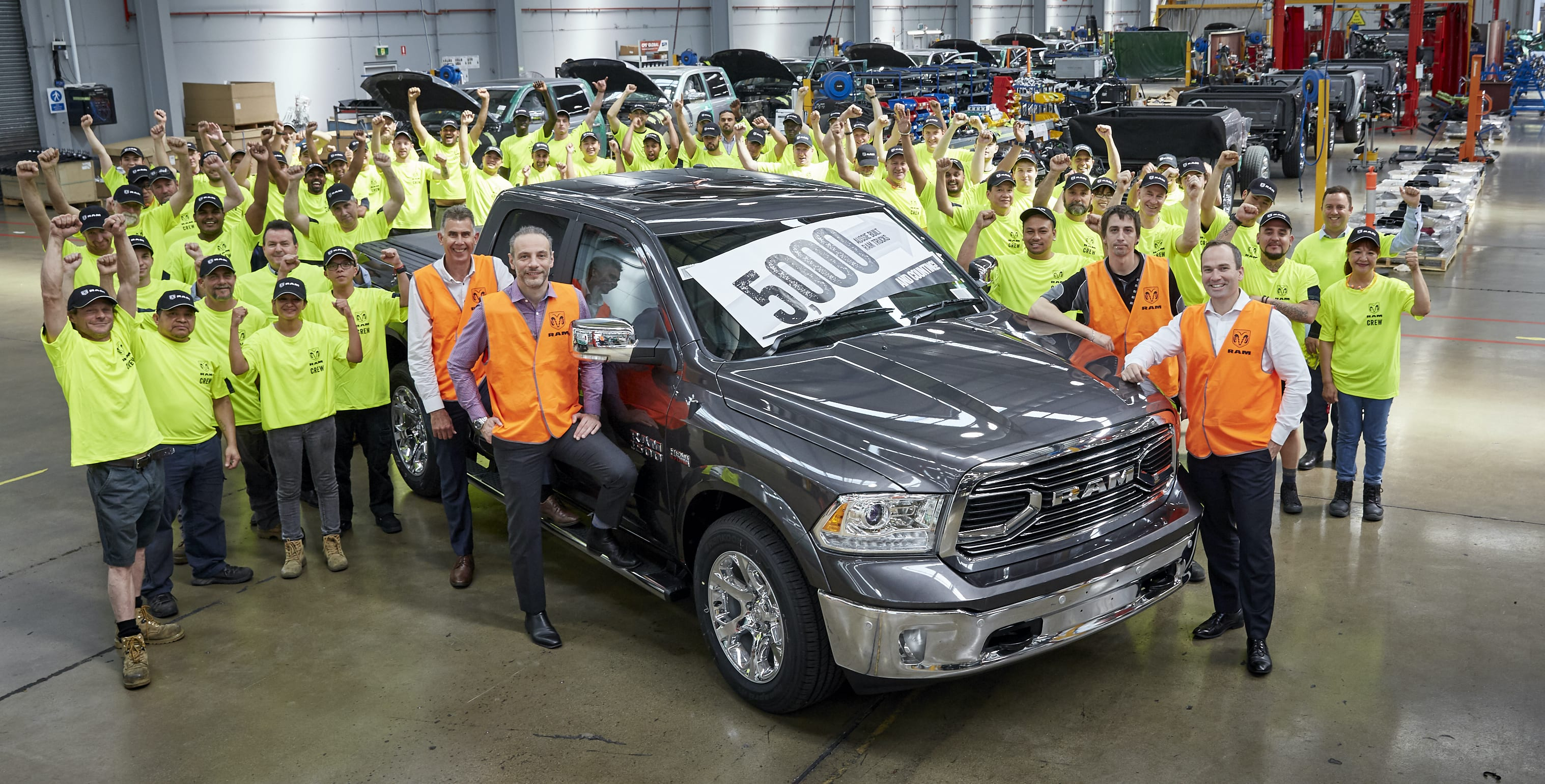 Ram Produces 5000th Right Hand Drive Vehicle In Australia Caradvice