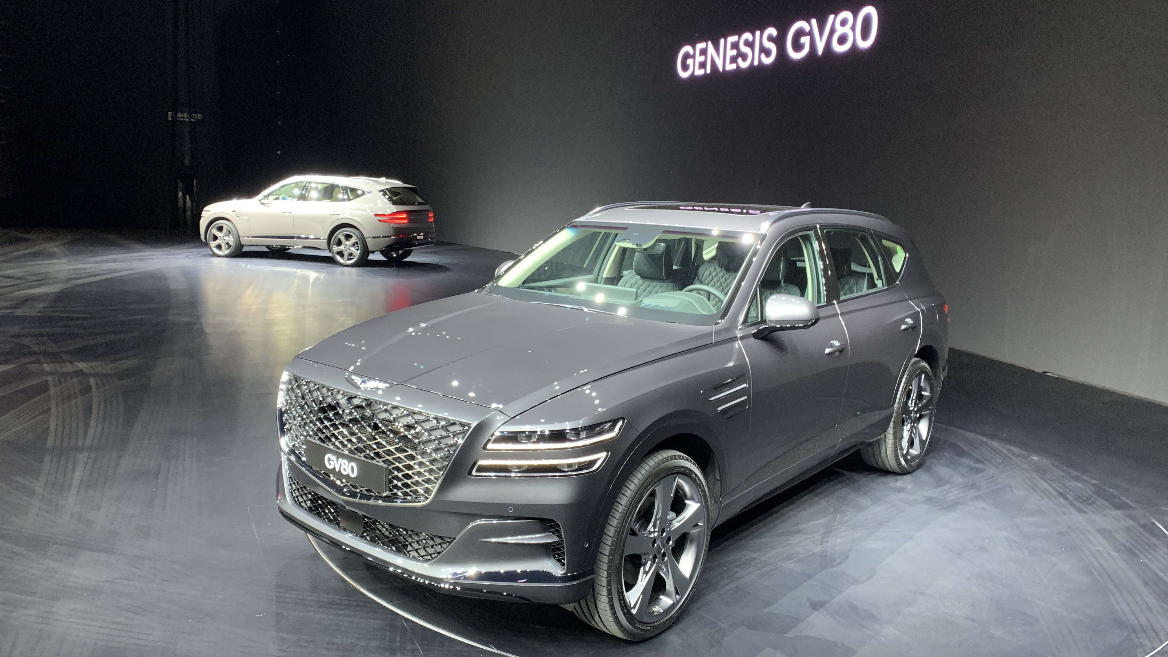2020 Genesis Gv80 Suv Revealed In Detail Due In Australia Around July Caradvice