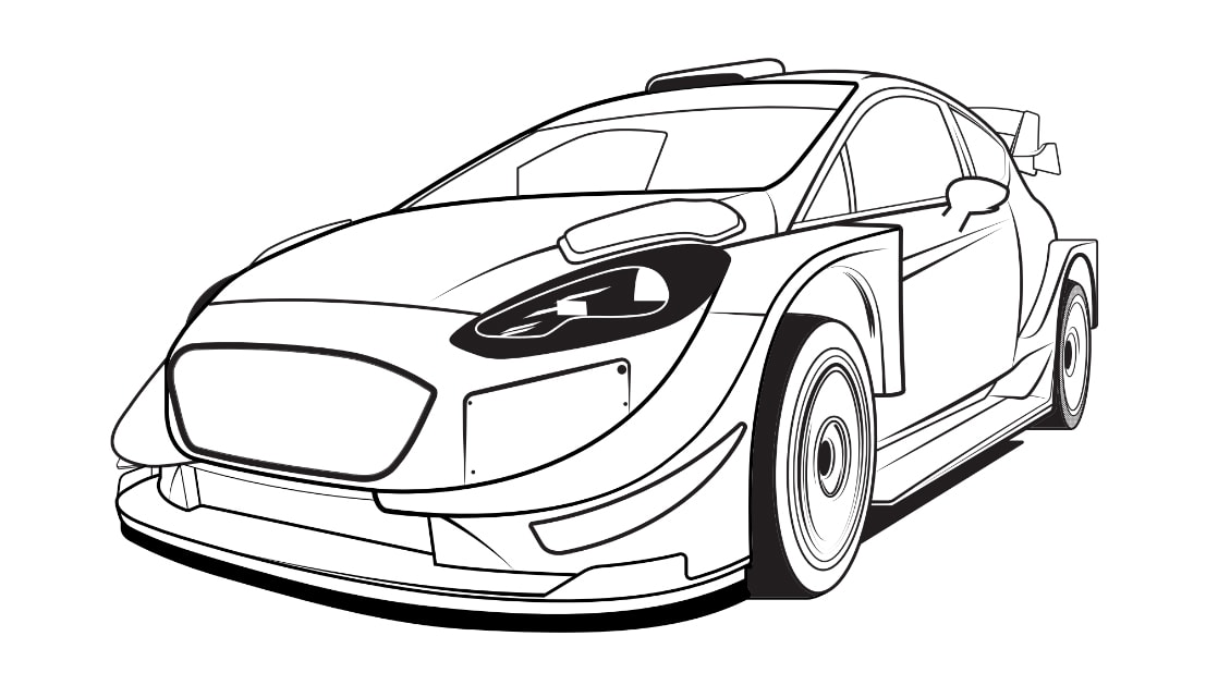 Brabus Smart Car Coloring Page | Free Brabus Smart | 629x1118