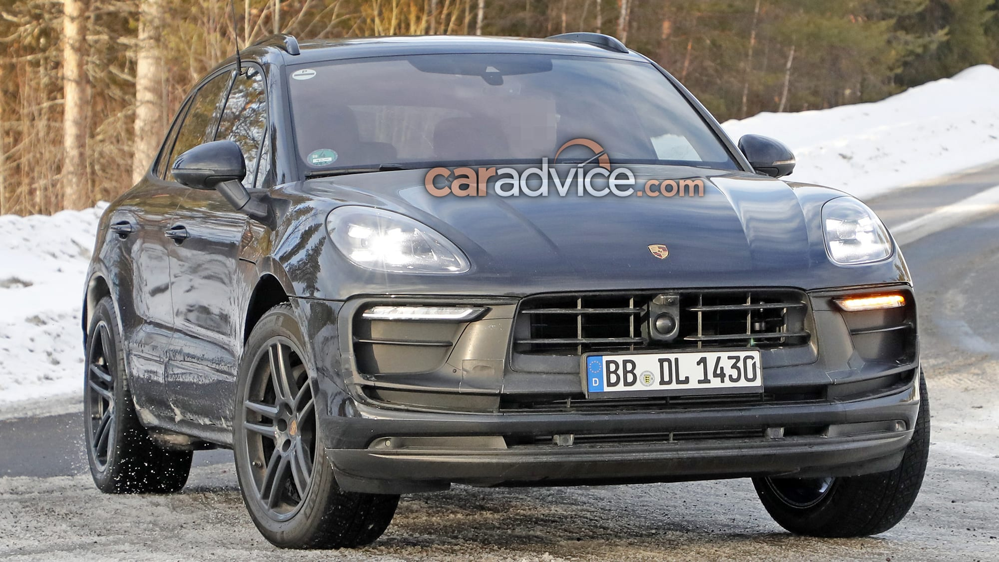 Spied Is The 2021 Porsche Macan Hiding Under This One Caradvice