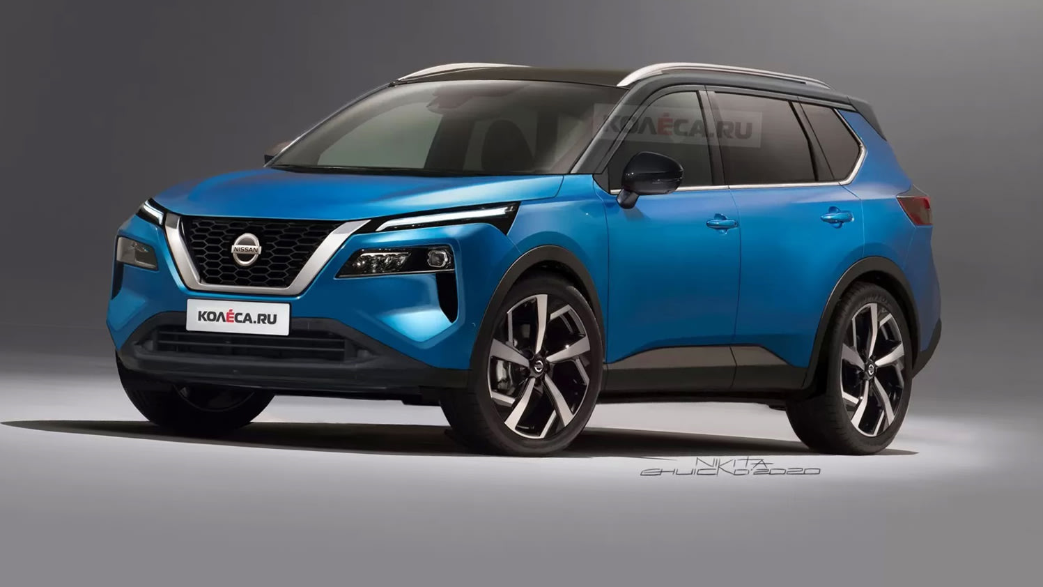 2021 Nissan X Trail Speculative Renderings Surface Caradvice