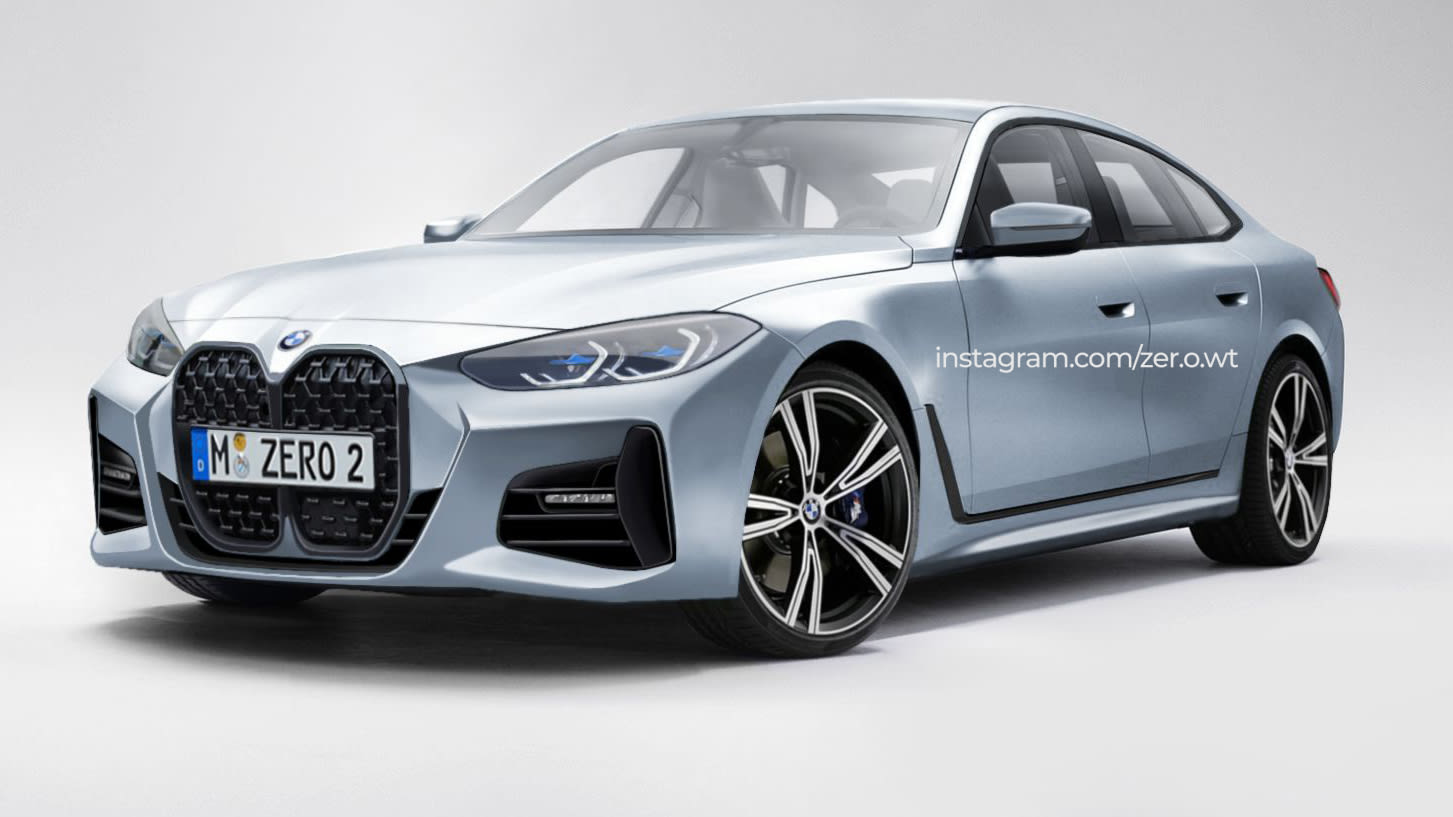 2021 Bmw 4 Series Gran Coupe Rendered Caradvice