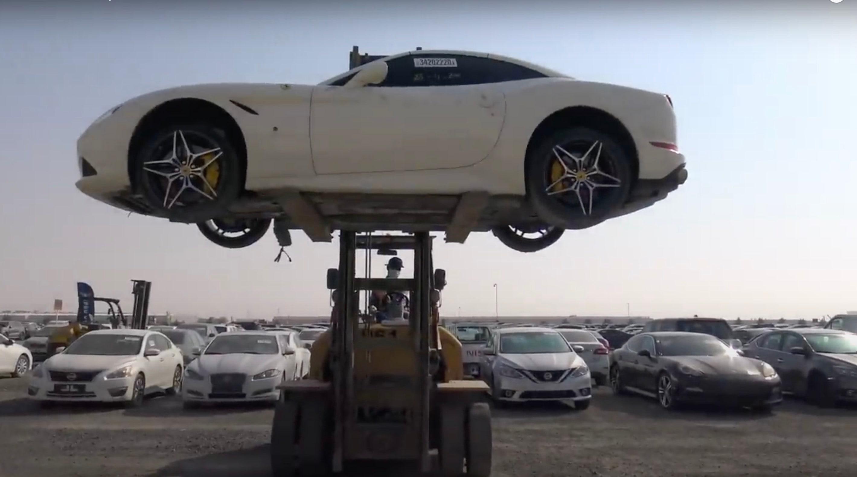 Million Dollar Scrapyard Final Resting Place For Supercars In Dubai Caradvice