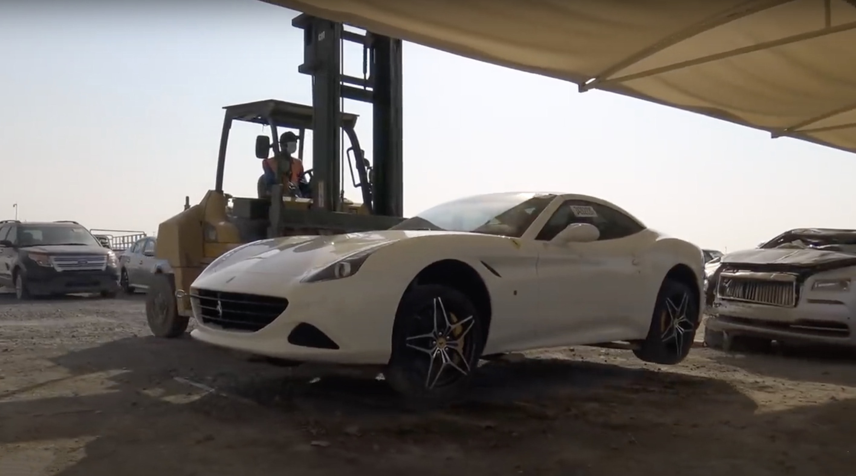 Million Dollar Scrapyard Final Resting Place For Supercars In Dubai Caradvice