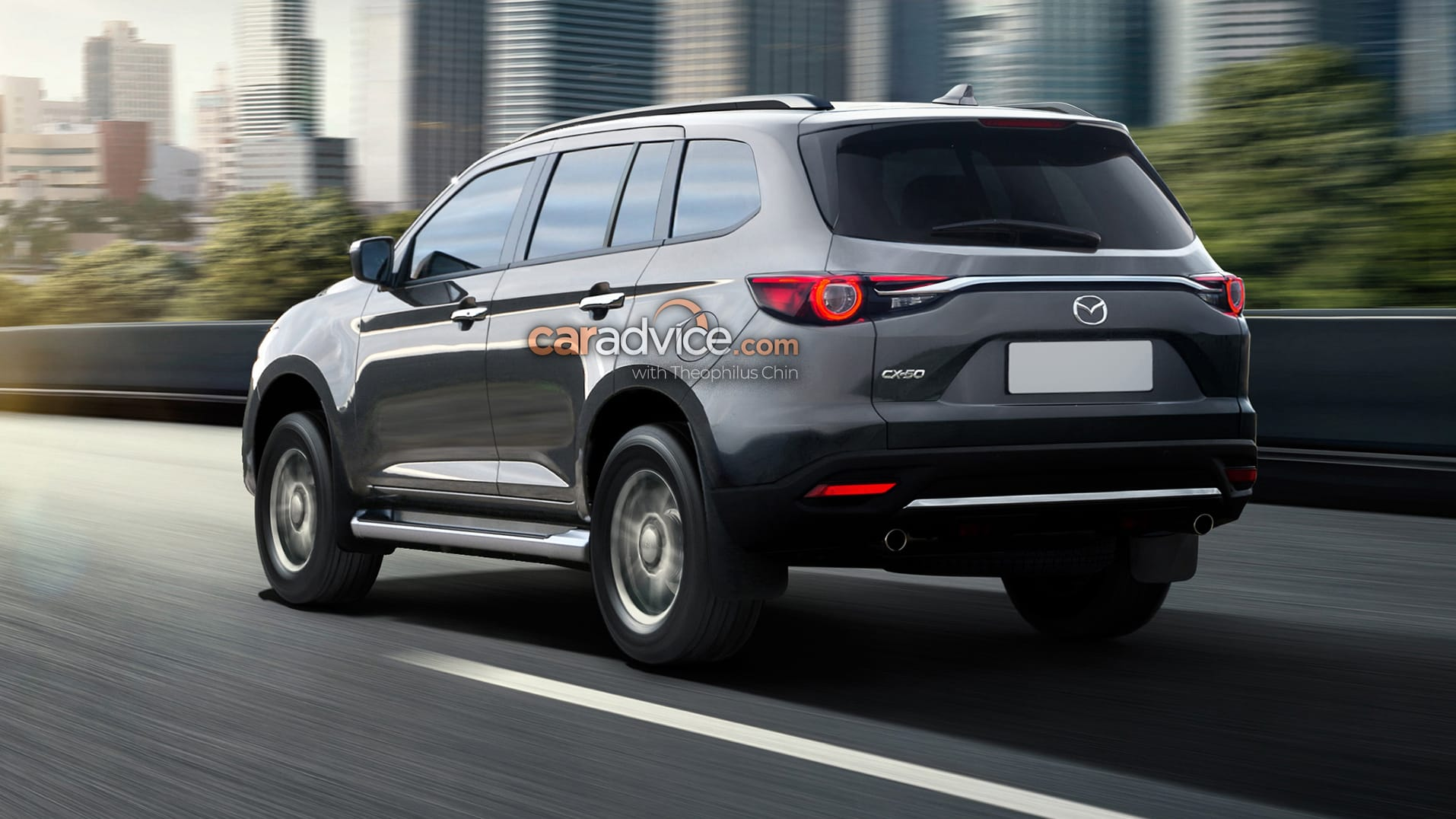 Rendered Our Mazda Cx 50 Takes Bt 50 Into The Suv Space Caradvice