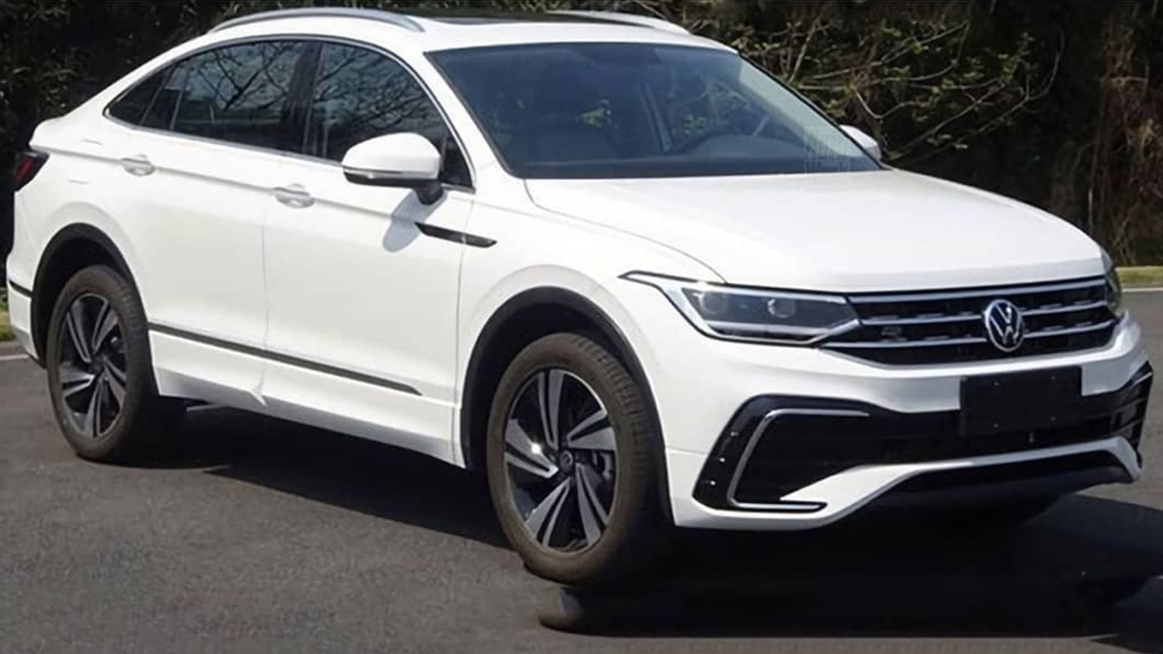 2021 Volkswagen Tiguan X Coupe Suv Revealed In Pre Release Images Caradvice
