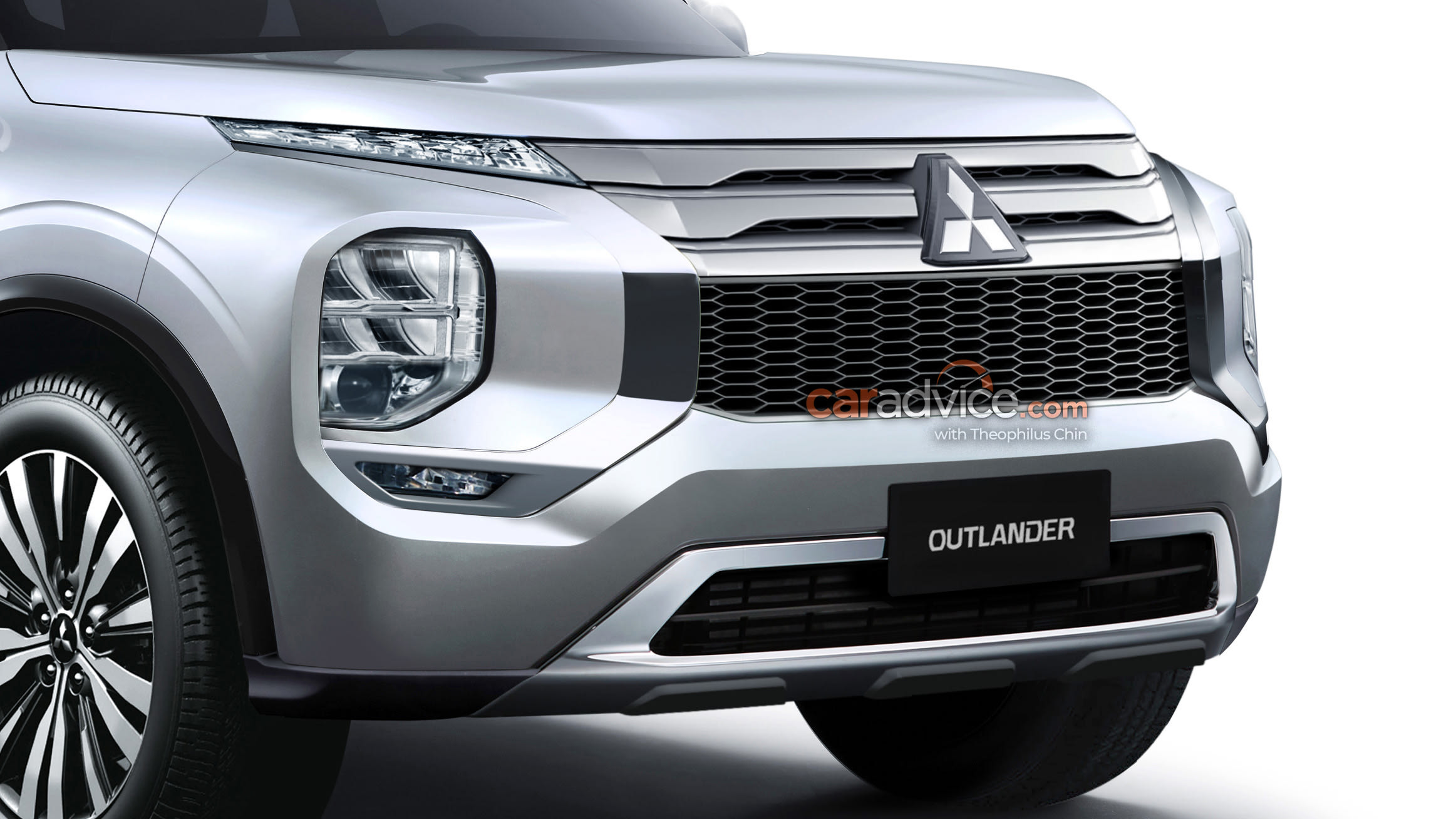 2021 Mitsubishi Outlander Previewed In New Renderings Caradvice
