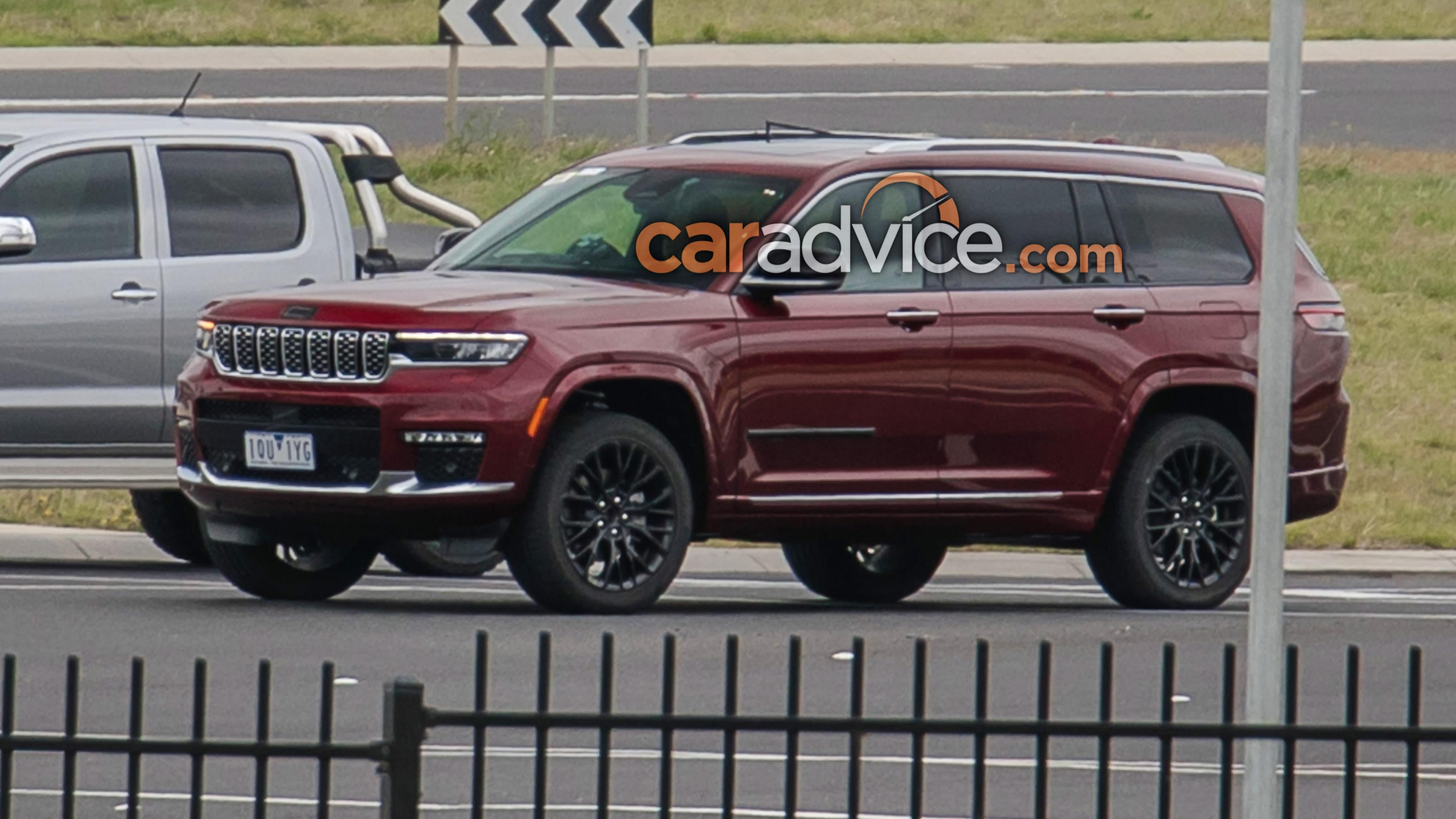 2021 Jeep Grand Cherokee L Begins Australian Testing Update Undisguised Spy Pics Caradvice