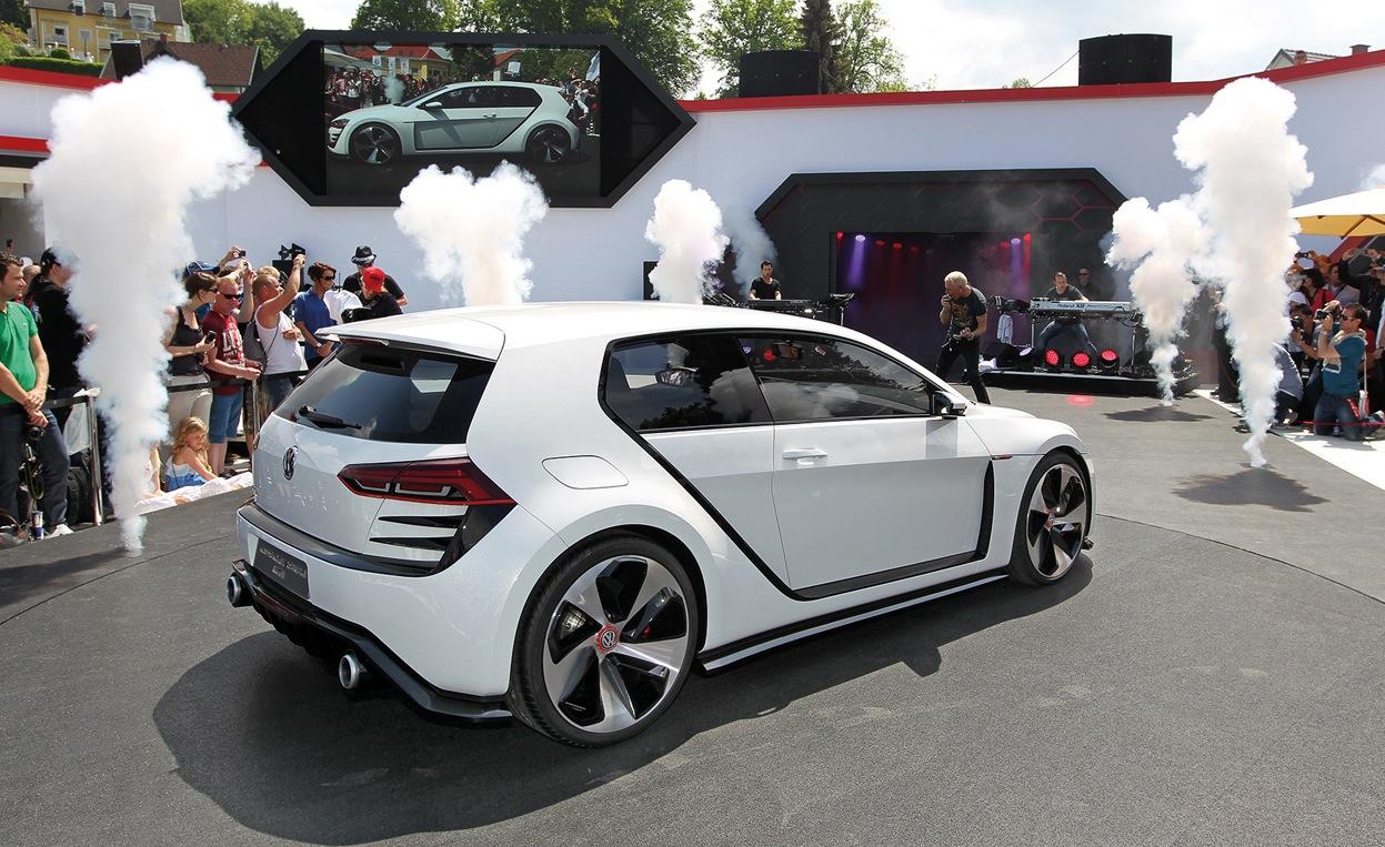 Volkswagen Golf Gti Design Vision Concept Revealed Caradvice