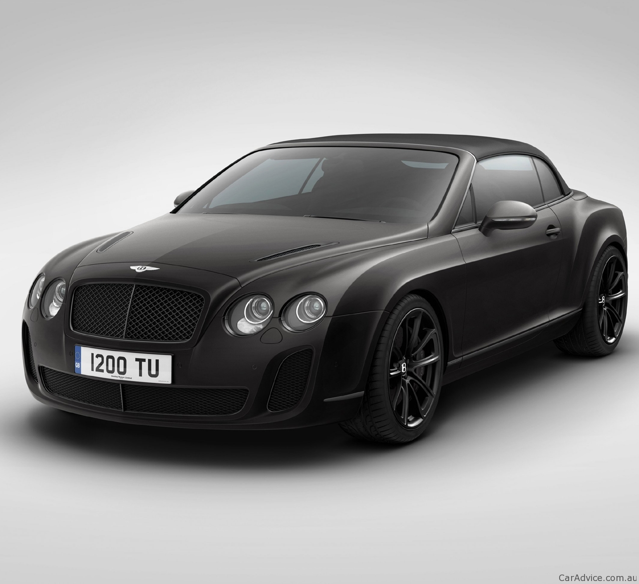 2011 Bentley Continental Supersports Ice Speed Record Convertible Special Edition Caradvice