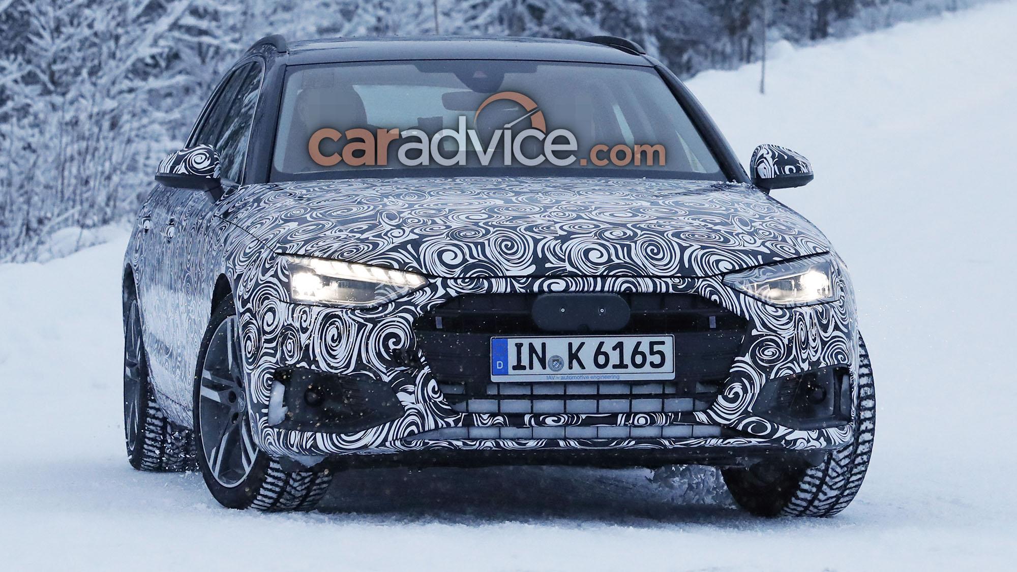 2020 Audi A4 Avant Facelift Spied Caradvice