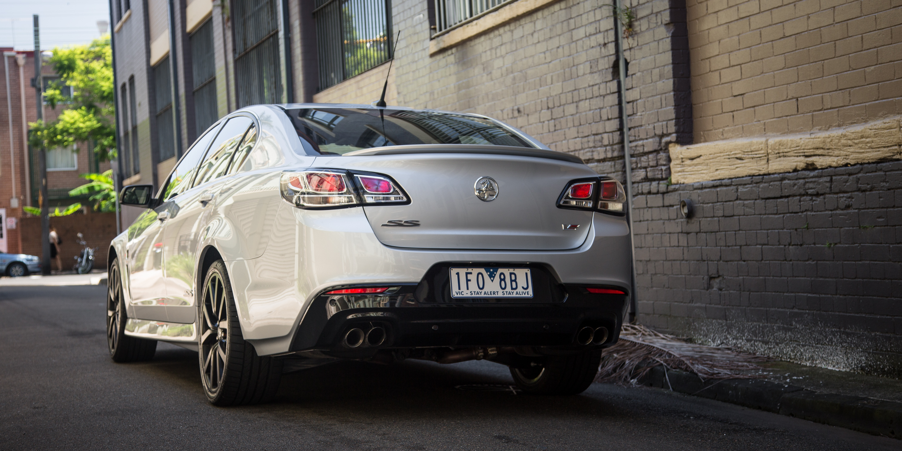 2016 Holden Commodore SS-V Redline review: Driving the city