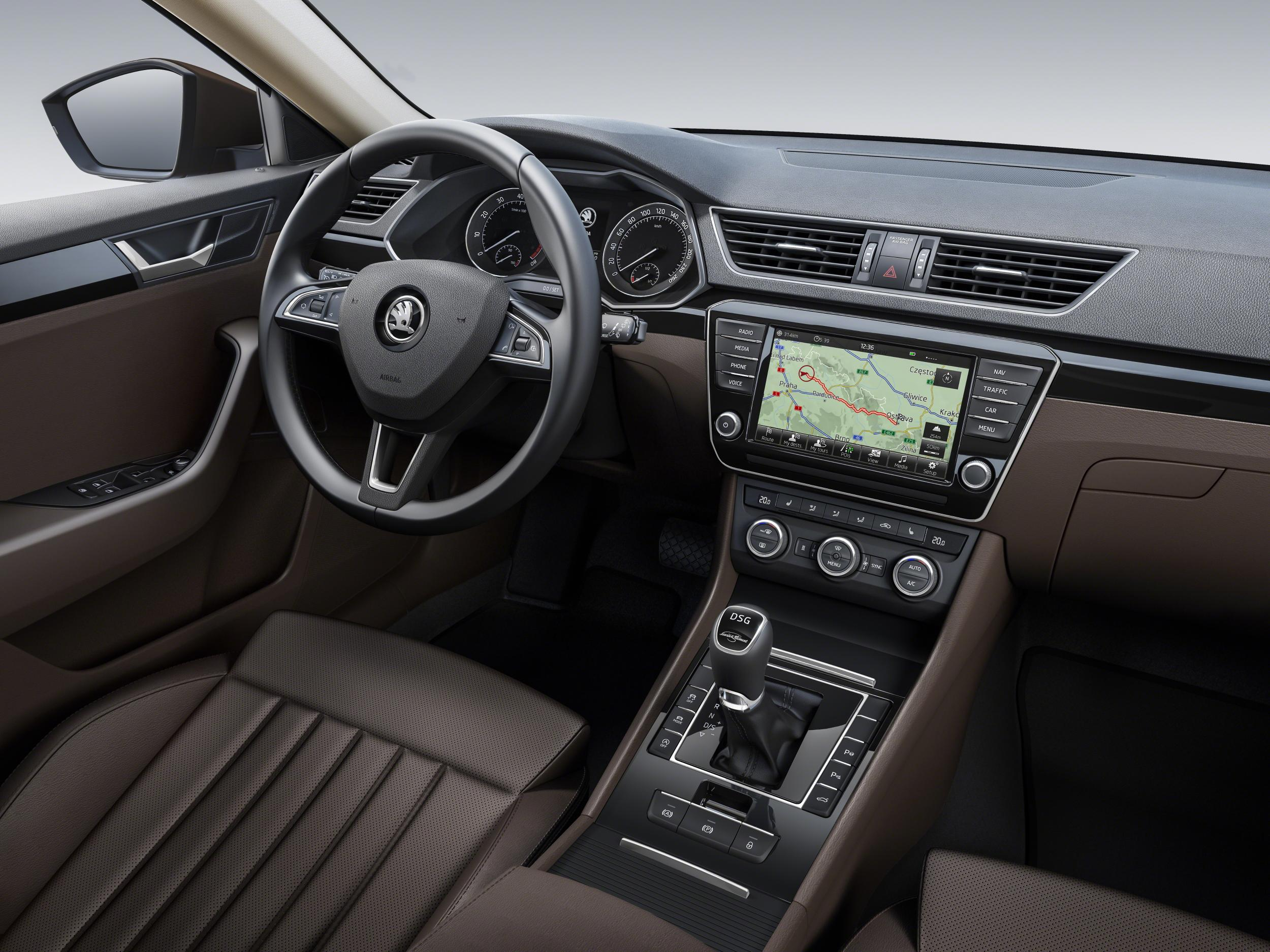 2016 Skoda Superb Interior Revealed Caradvice