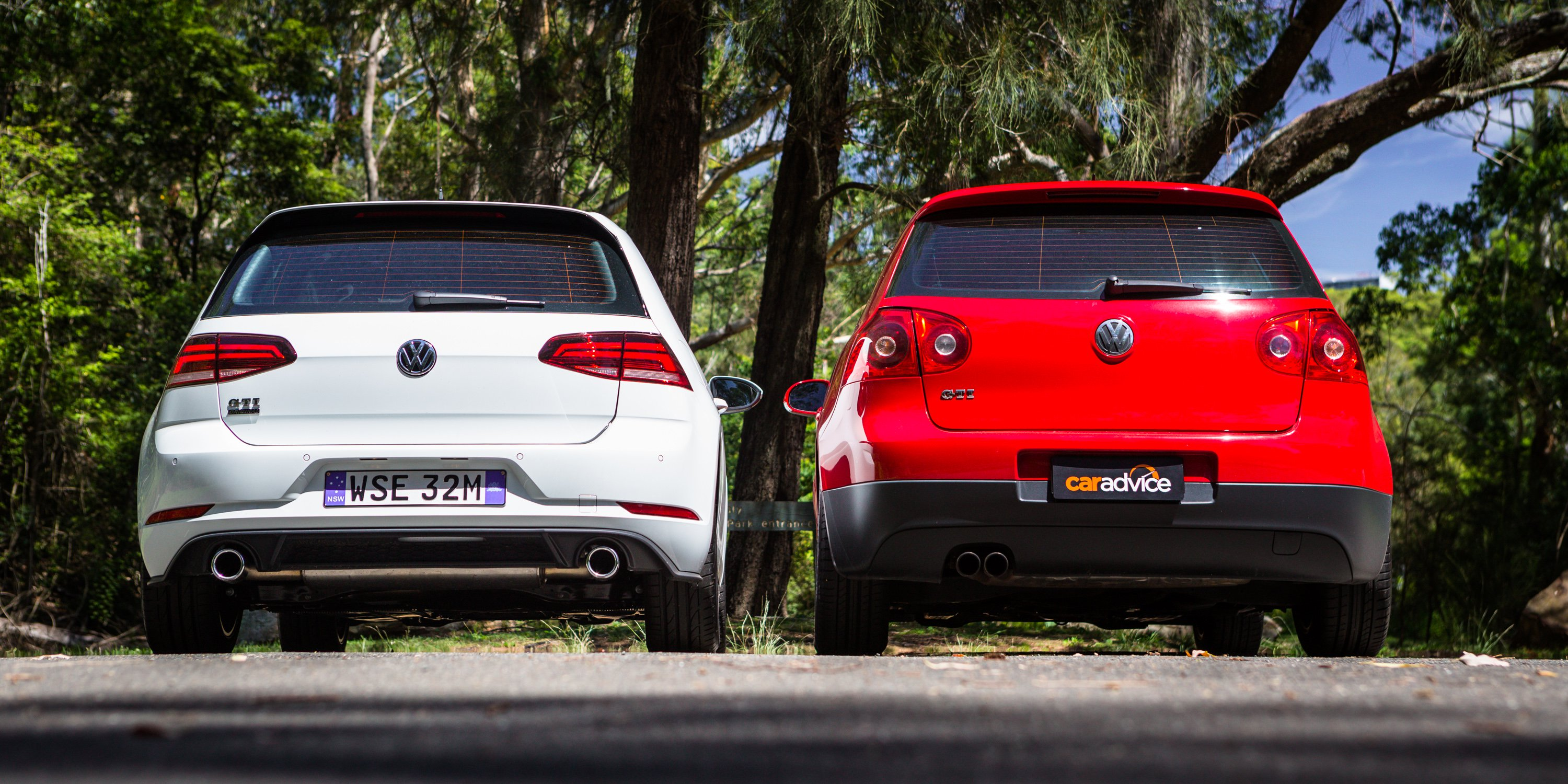 Volkswagen Golf GTI Old v New: 2018 MkVII v 2007 MkV