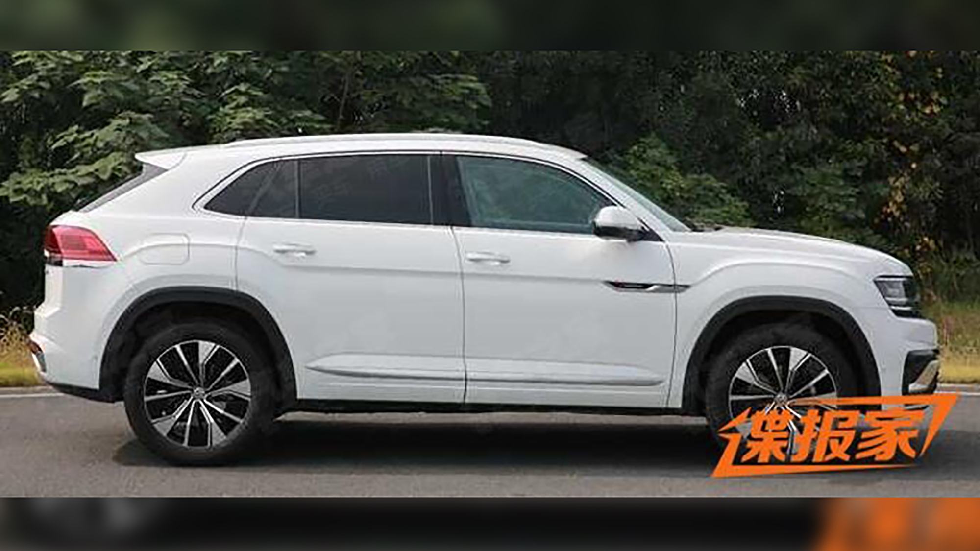 2020 Volkswagen Atlas Cross Sport Leaked Caradvice
