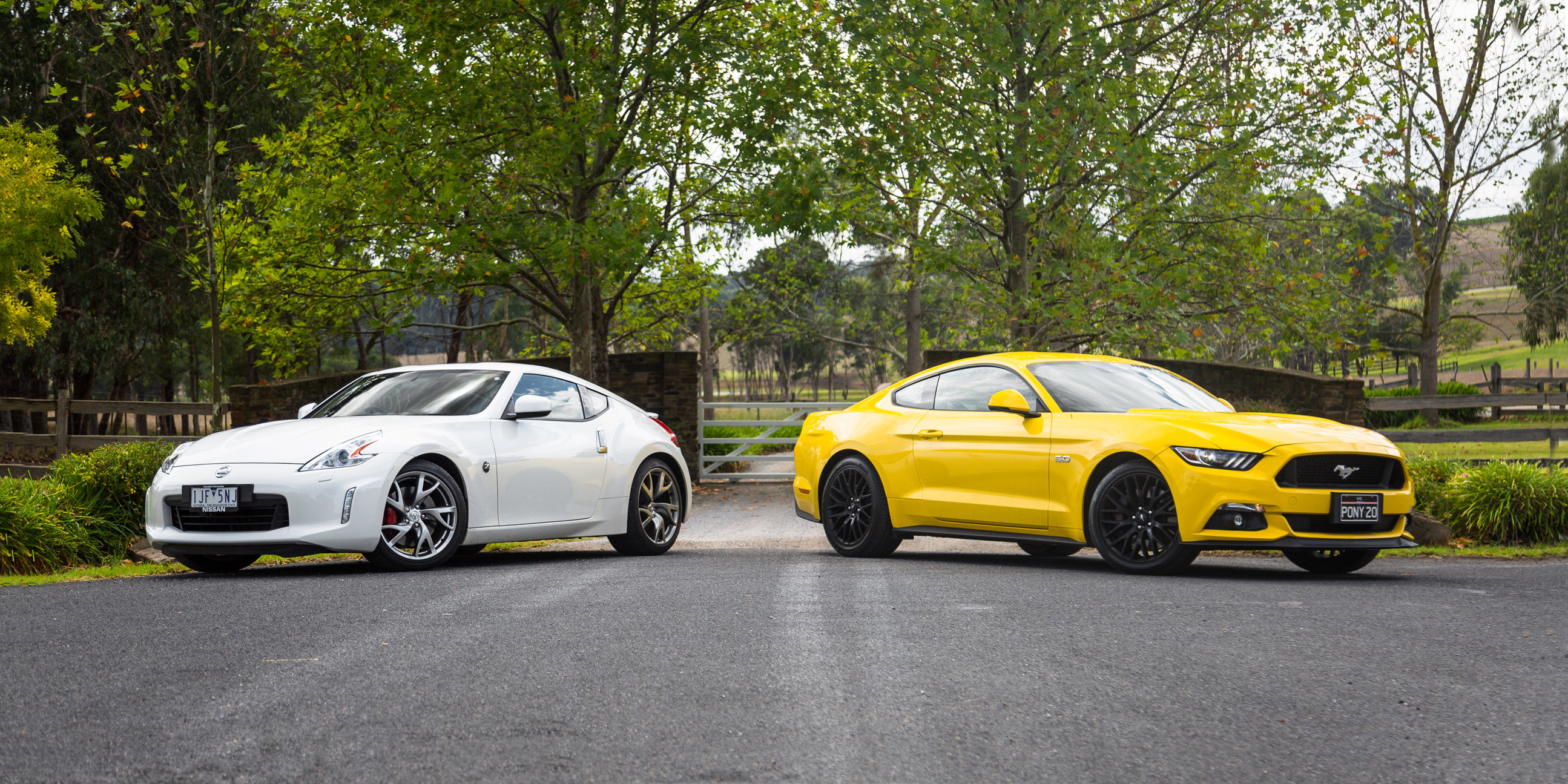 Ford Mustang GT Fastback v Nissan 370Z Coupe comparison