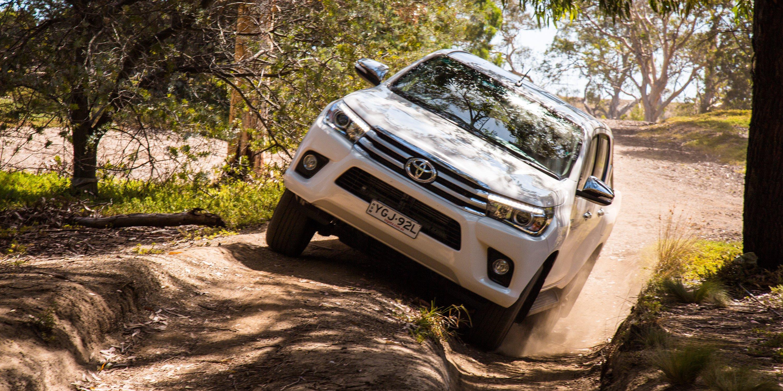 2018 Ford Ranger v Toyota HiLux v Mitsubishi Triton v Nissan