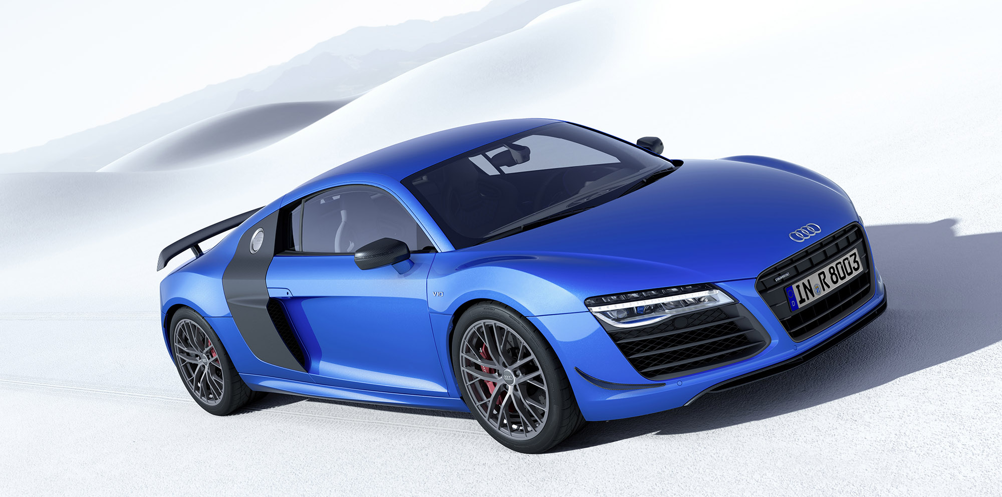 Audi R8 Lmx Trumps Bmw I8 To Be First Production Car With Laser High Beams Caradvice