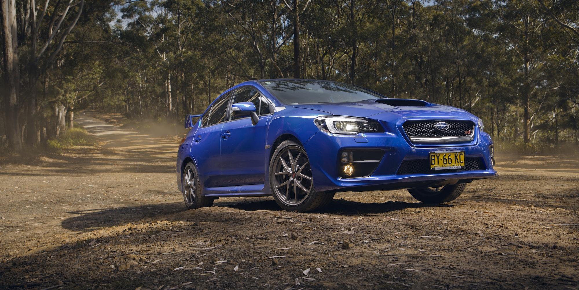 Sports car comparison : Subaru WRX STI v Audi S3 v