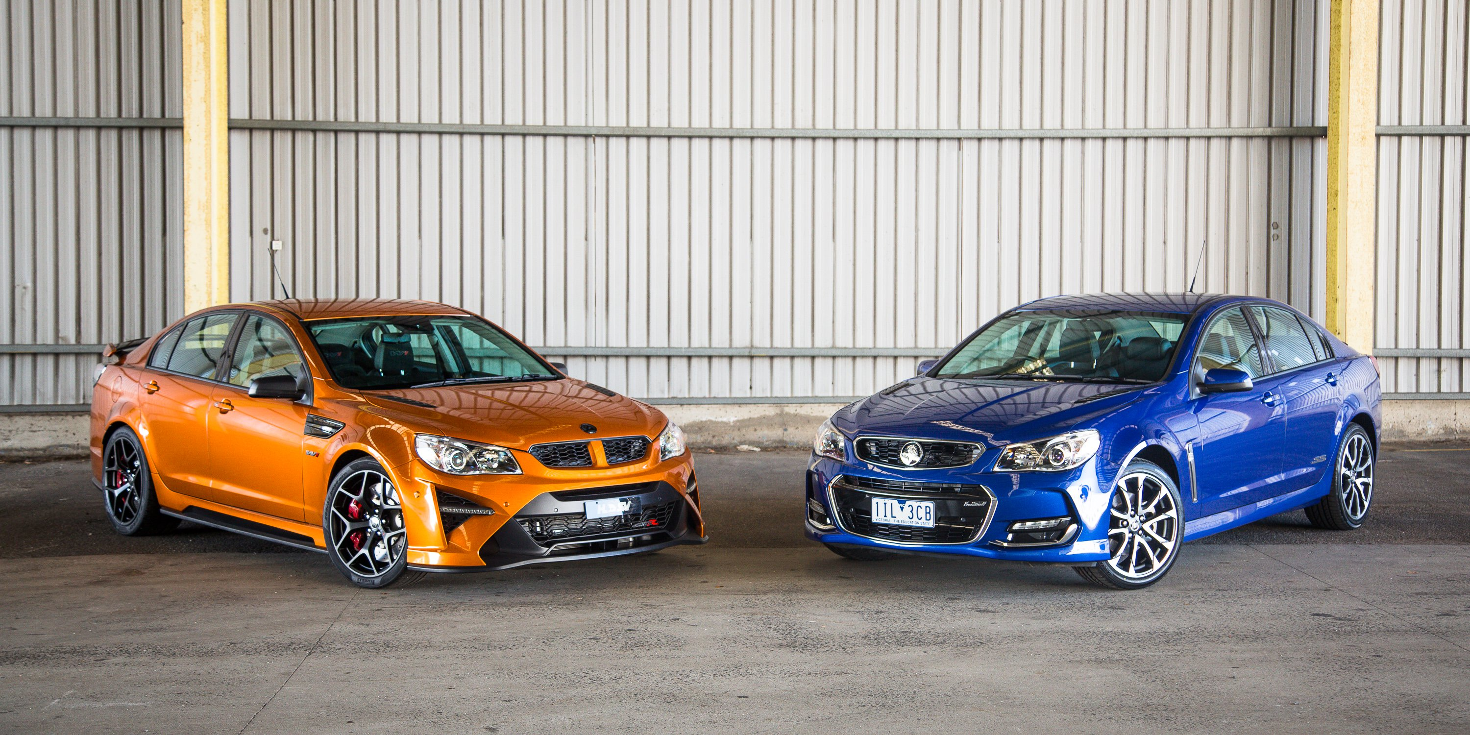 HSV GTSR W1 vs Holden Commodore SS | CarAdvice