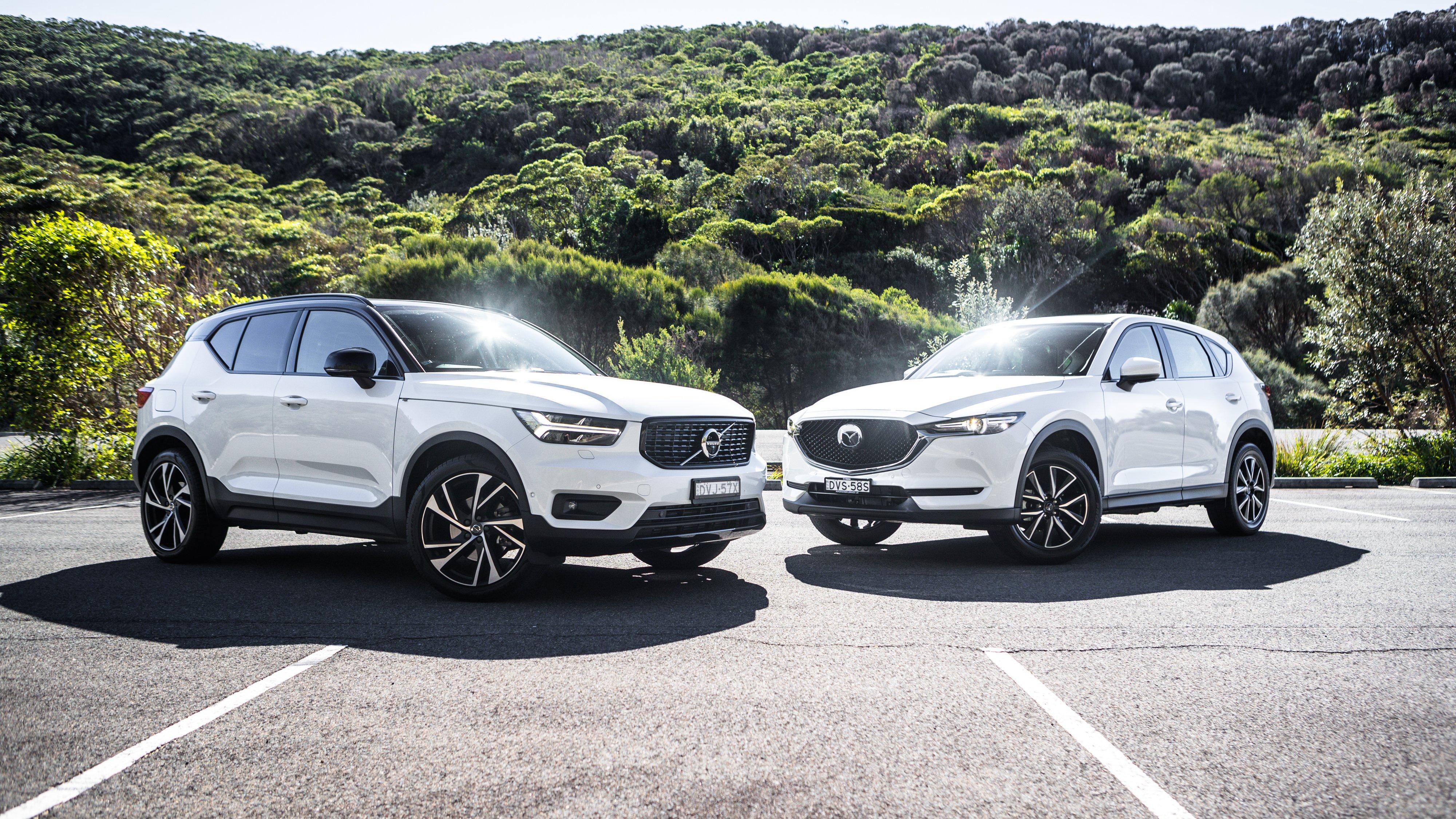 2018 Mazda CX-5 v Volvo XC40 comparison | CarAdvice