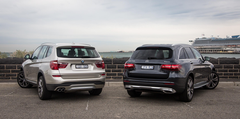 Mercedes-Benz GLC v BMW X3 : Comparison Review | CarAdvice