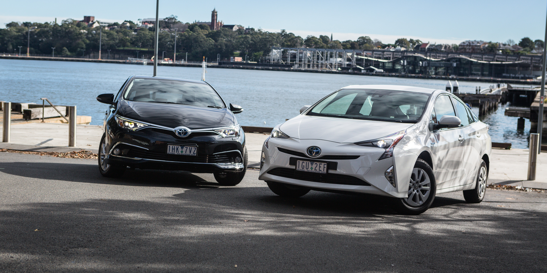 Toyota Corolla Hybrid v Toyota Prius Comparison | CarAdvice