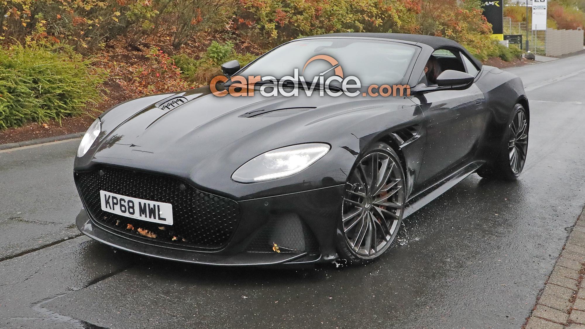 Aston Martin Dbs Superleggera Volante Spied Undisguised Caradvice
