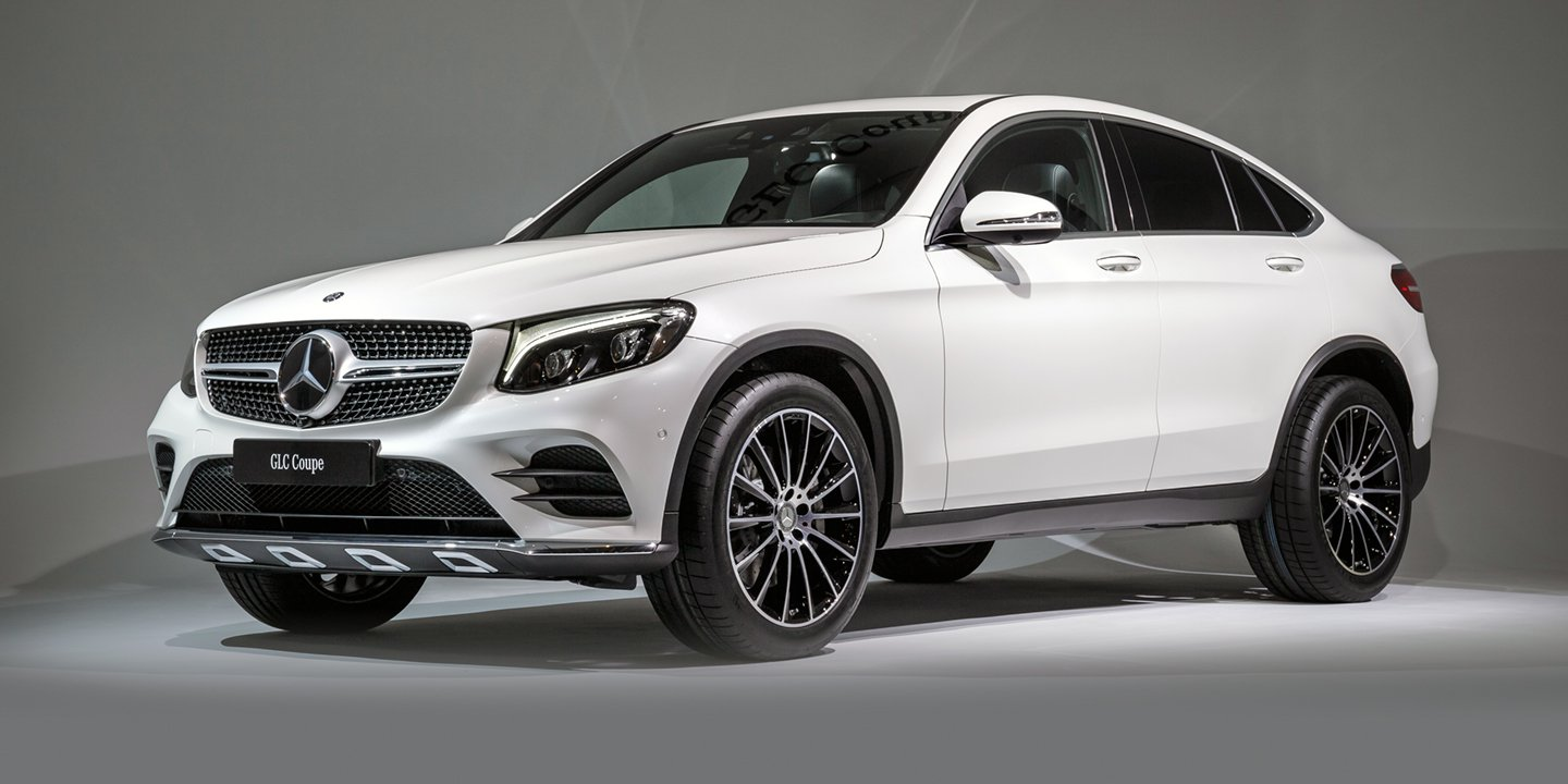 2017 Mercedes Benz Glc Coupe Amg Glc43 Coupe Revealed Australian Launch Due In December Caradvice
