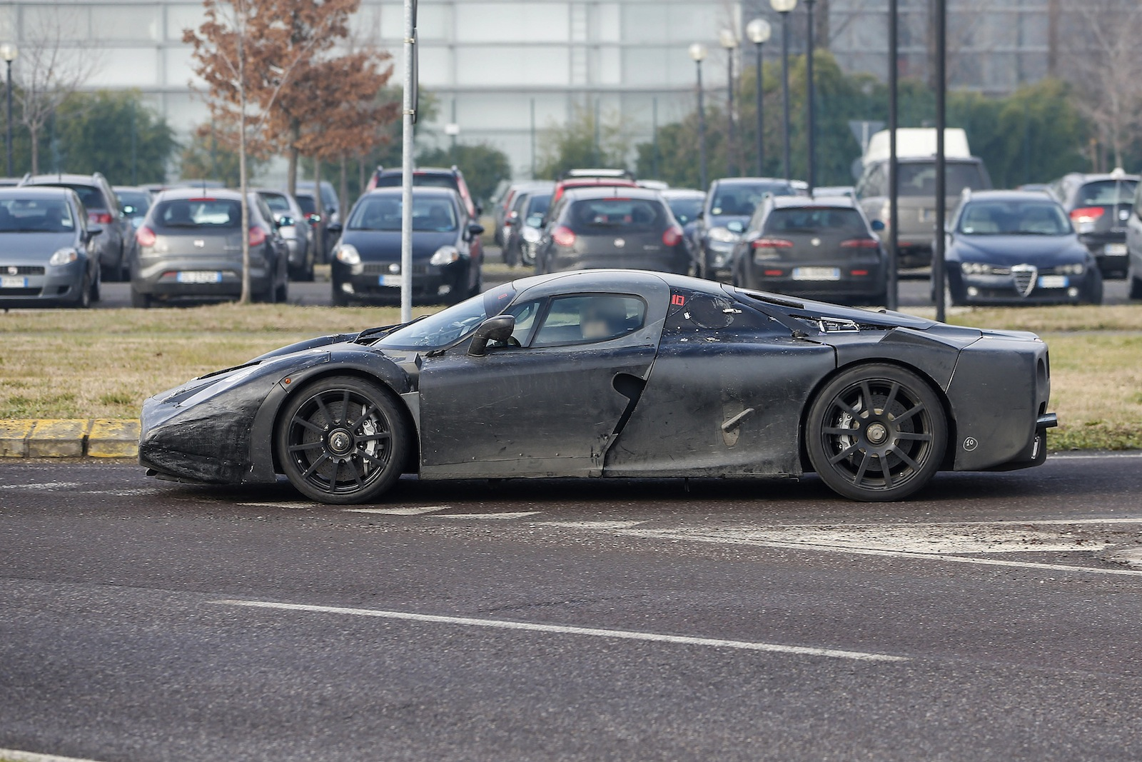 Ferrari Enzo Successor Caught On Public Roads Caradvice