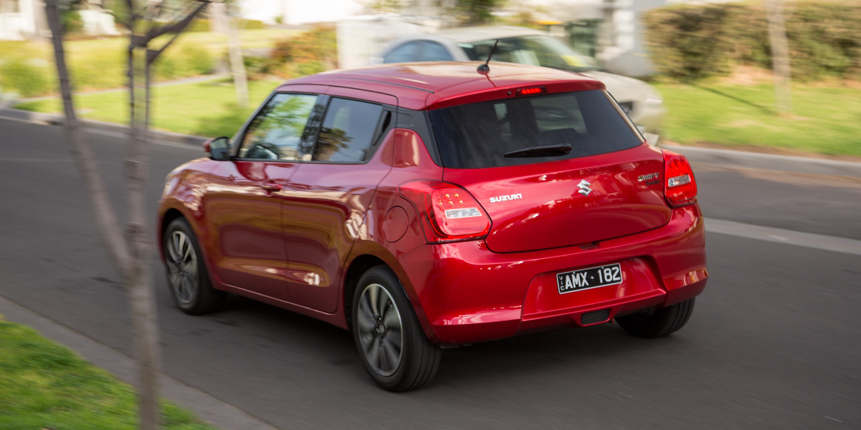 2017 Suzuki Swift GLX Turbo review | CarAdvice