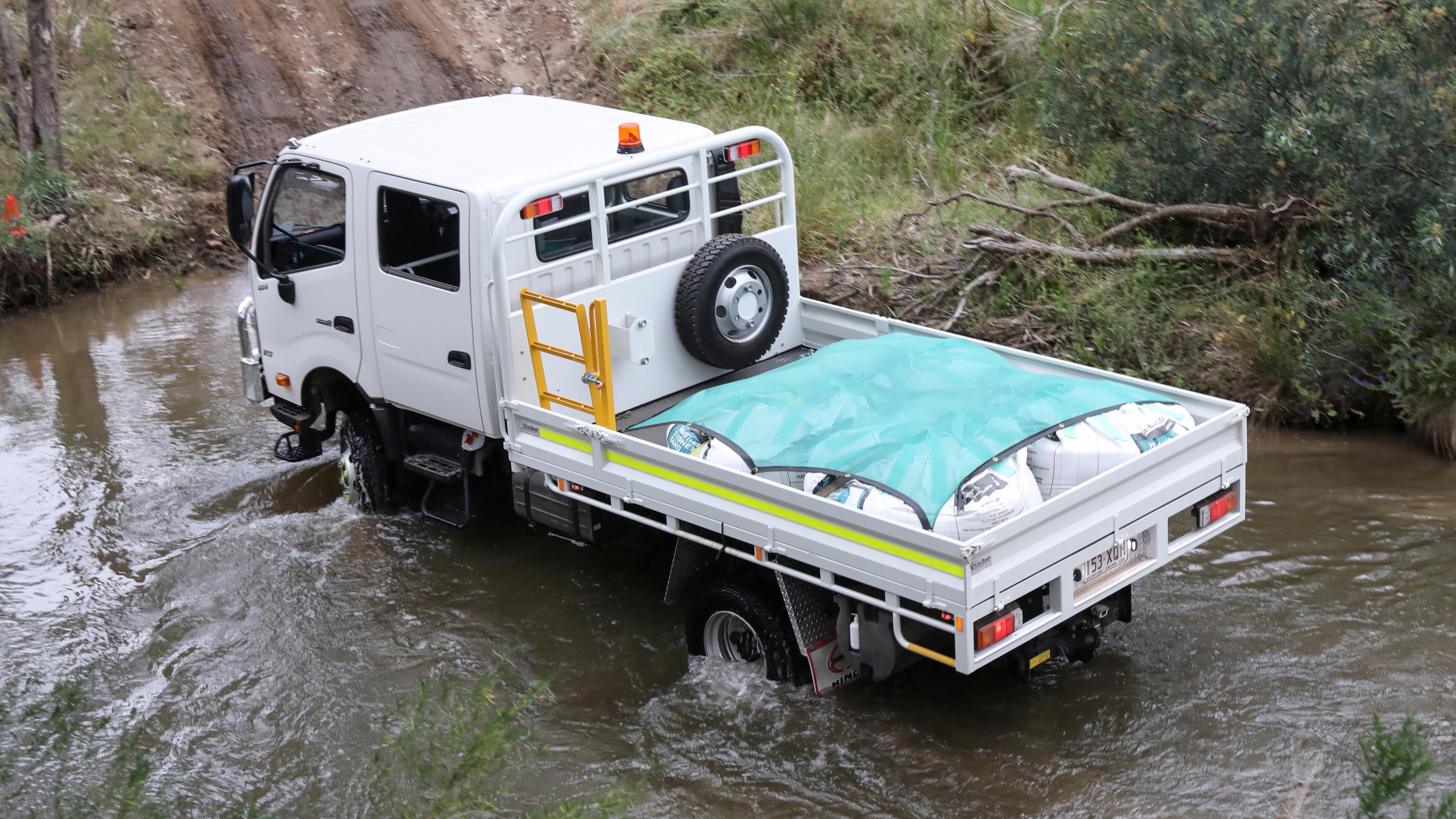 Control Dashboard Of Tata Five Gear Truck