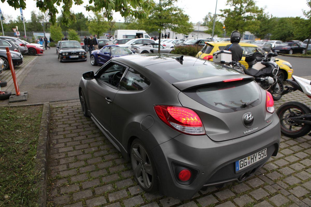 2013 Hyundai Veloster Turbo Review: exclusive Nurburgring
