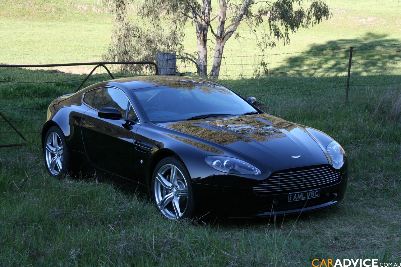 2009 Aston Martin V8 Vantage Coupe Review Caradvice