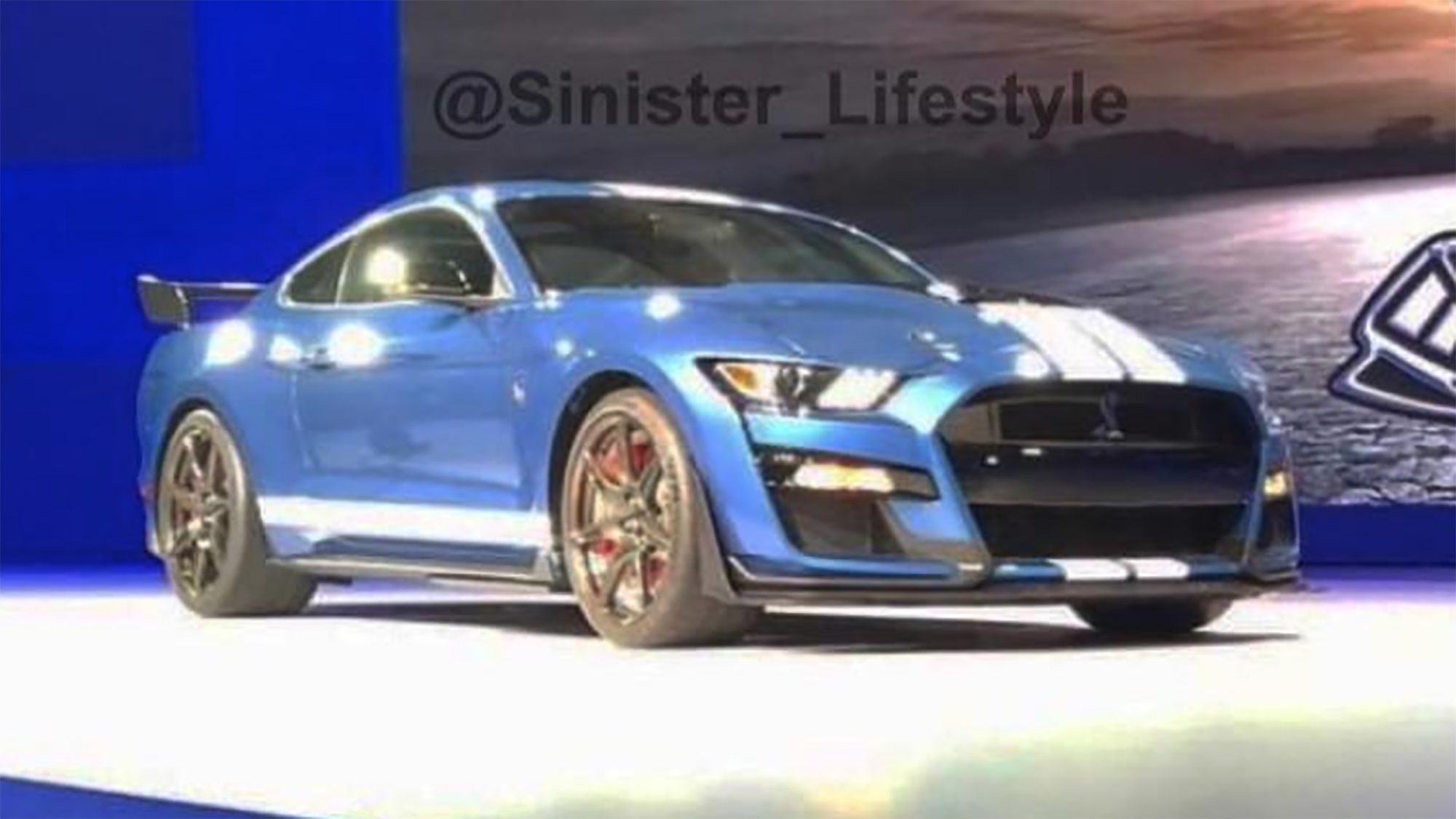 The ford mustang shelby gt500 has been ousted on social media giving us a first look at the manic pony snake flagship posted on instagram by user