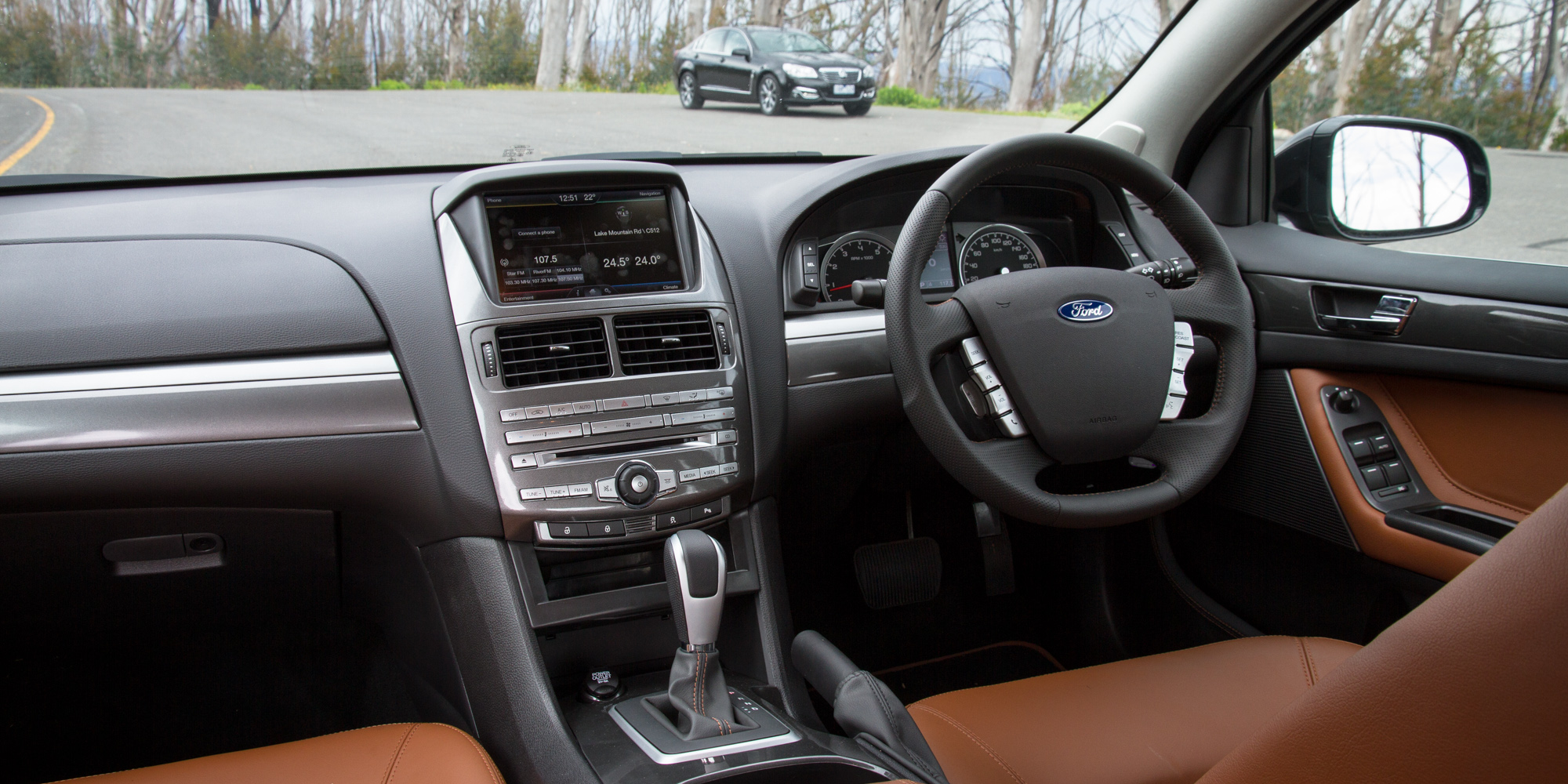Ford Falcon G6E v Holden Calais : Comparison review | CarAdvice