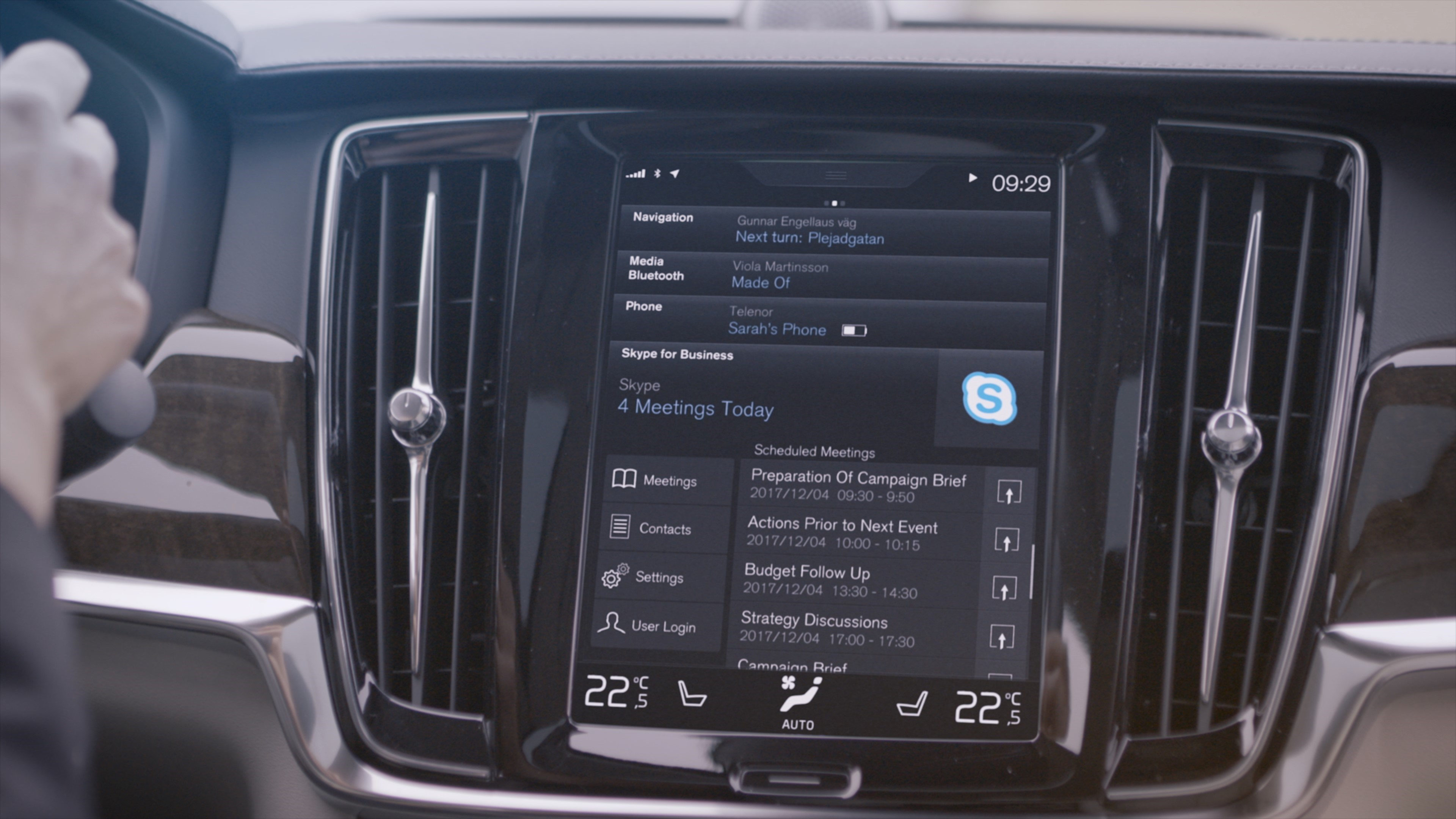 Volvo adds Skype calling to S90, V90, XC90 | CarAdvice