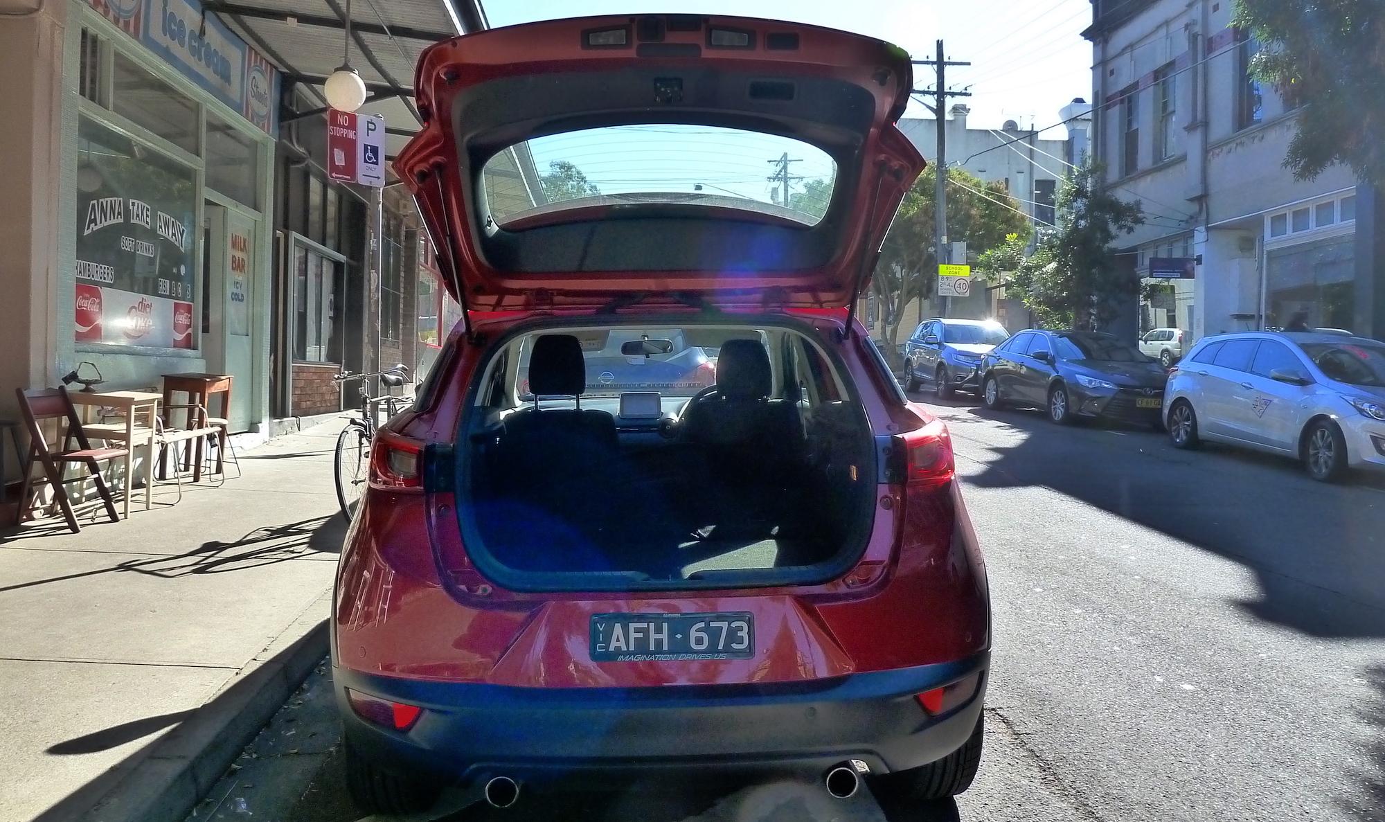Mazda 3, 6, CX-3, CX-5 recalled for tailgate fix: 237,000