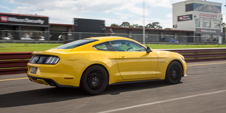 Ford Mustang GT Fastback v Holden Commodore SS V Redline