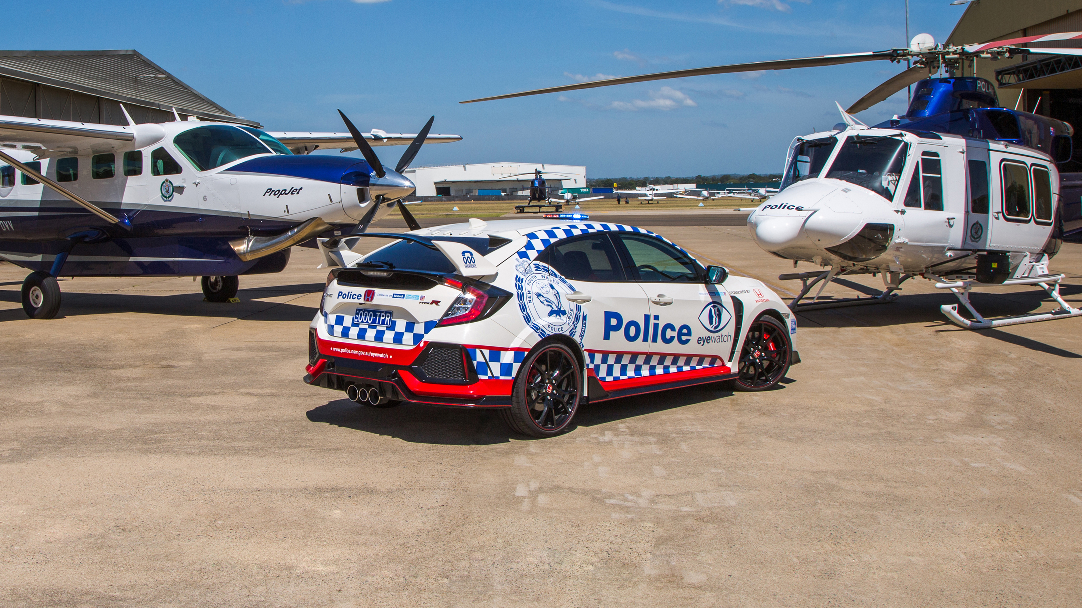 Honda Civic Type R police car: NSW gets hot hatch | CarAdvice