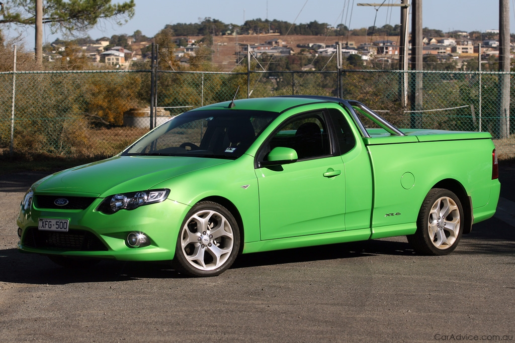 Ford Falcon XR6 Turbo Ute Review & Road Test | CarAdvice
