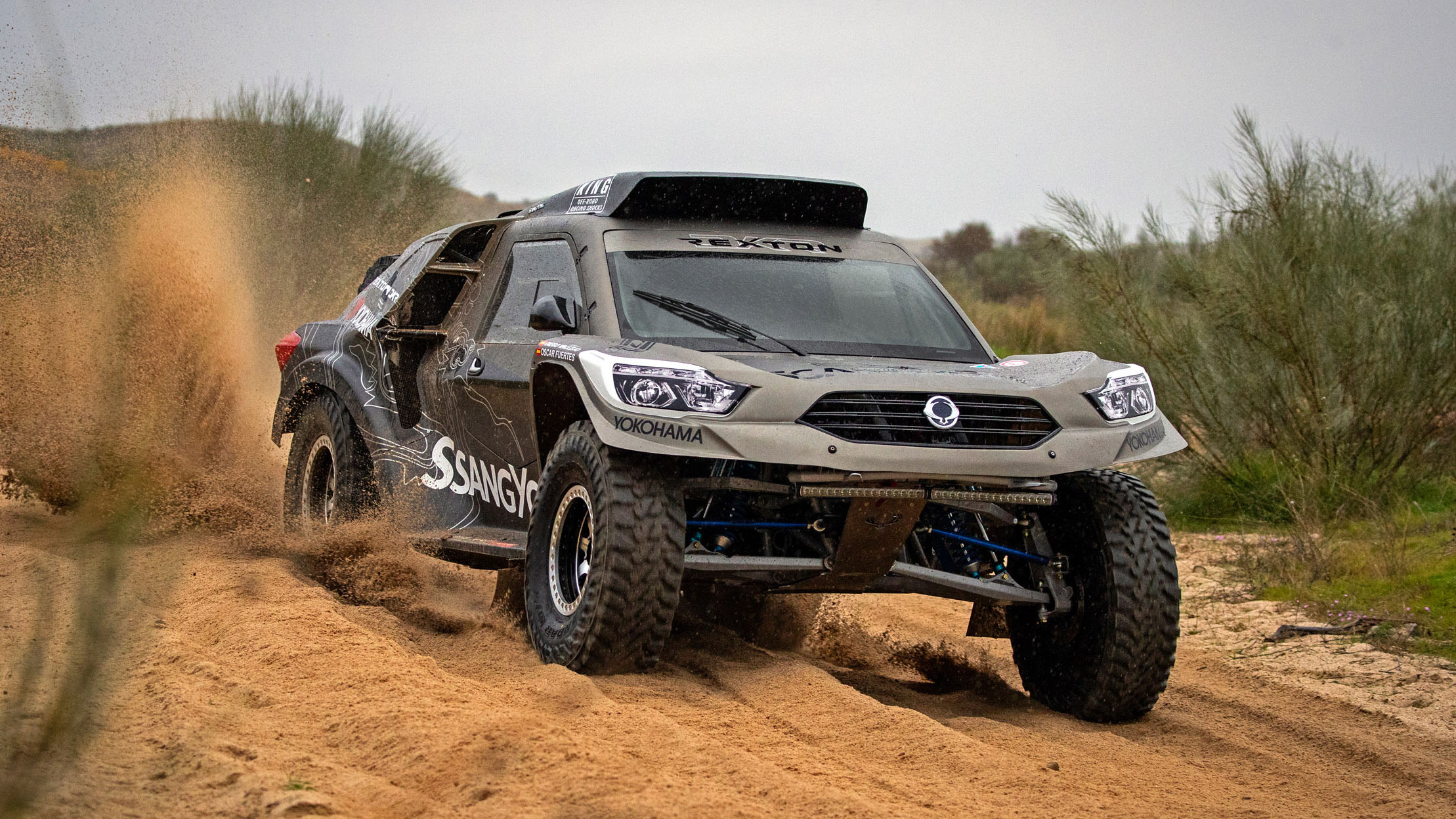 Ssangyong Rexton DKR to tackle 2019 Dakar Rally | CarAdvice